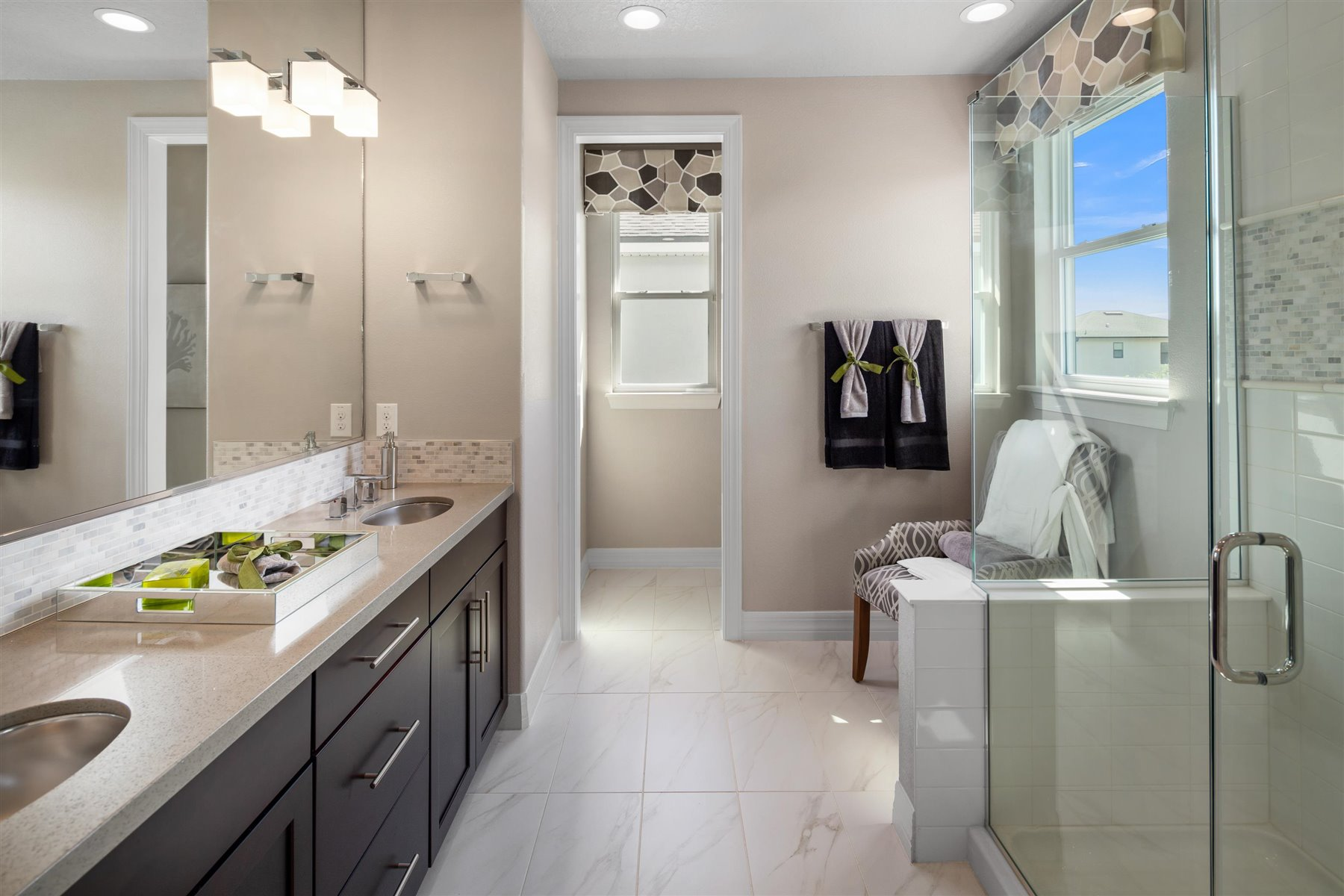 Palmetto Plan Bathroom_Master Bath at Tapestry in Kissimmee Florida by Mattamy Homes