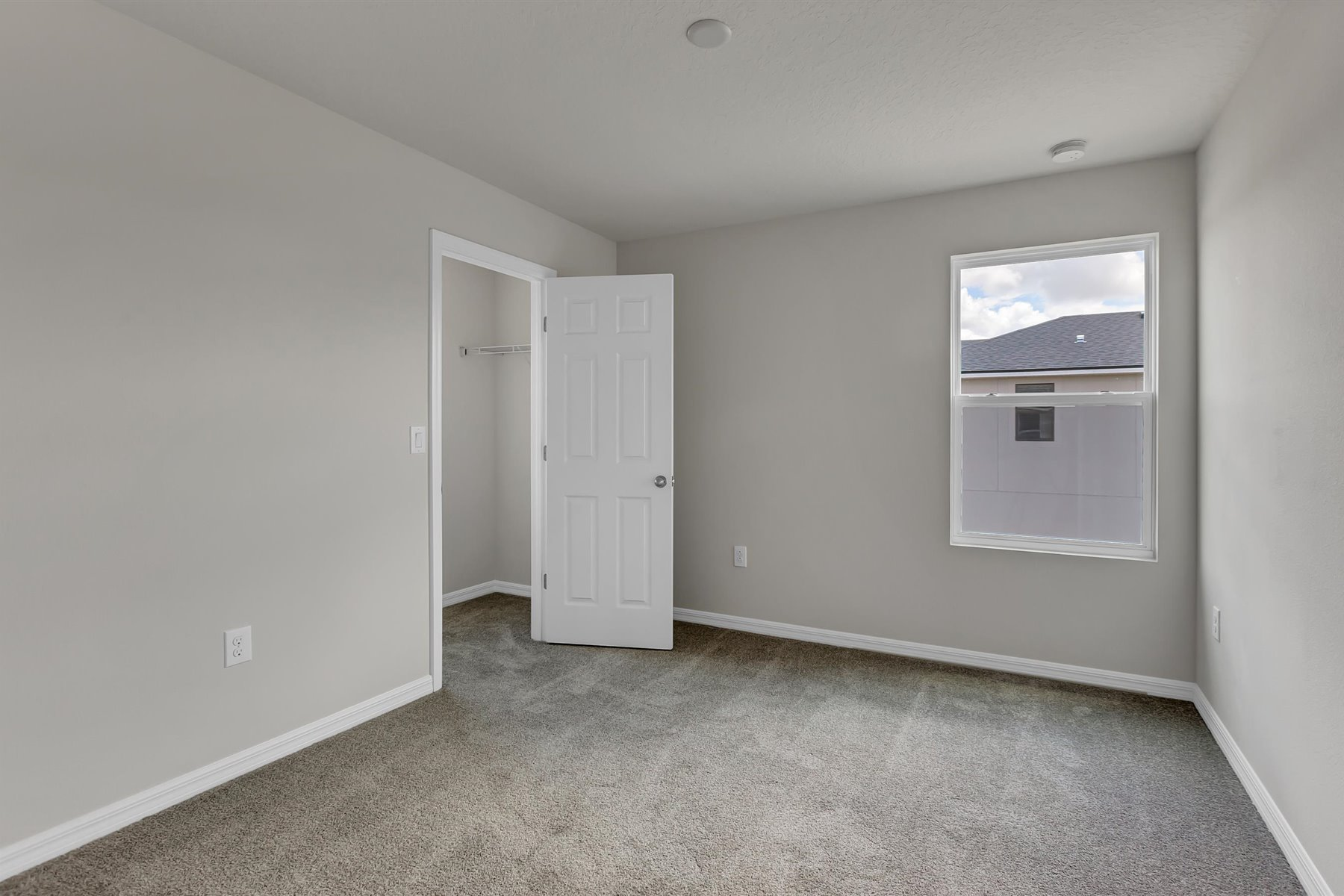 Palmetto Plan Bedroom at Tapestry in Kissimmee Florida by Mattamy Homes
