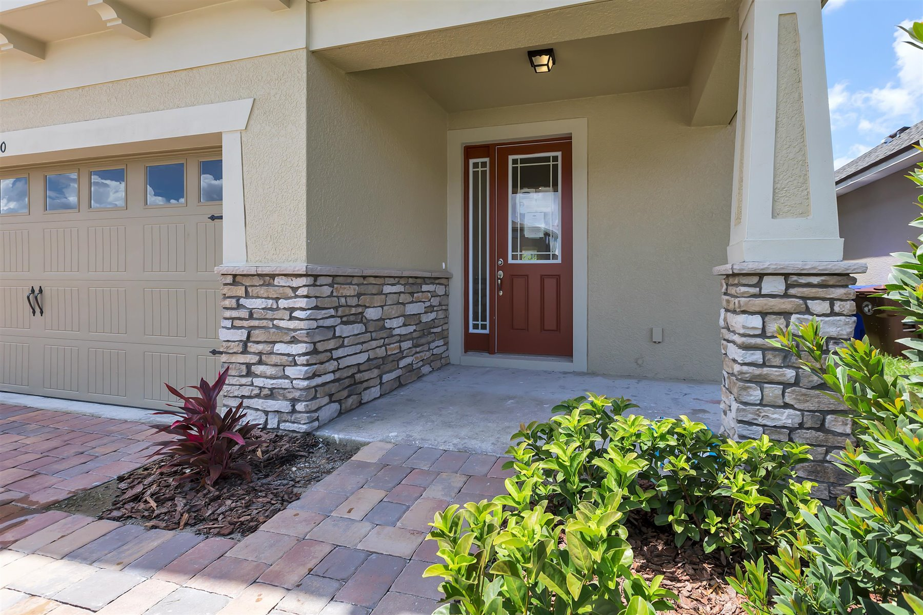 Palmetto Plan Front Porch at Tapestry in Kissimmee Florida by Mattamy Homes