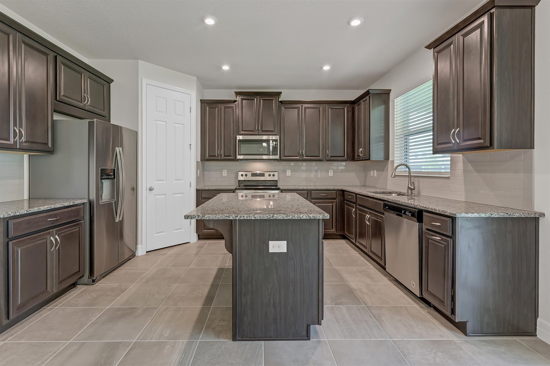 Winthrop Plan Kitchen at Tapestry in Kissimmee Florida by Mattamy Homes