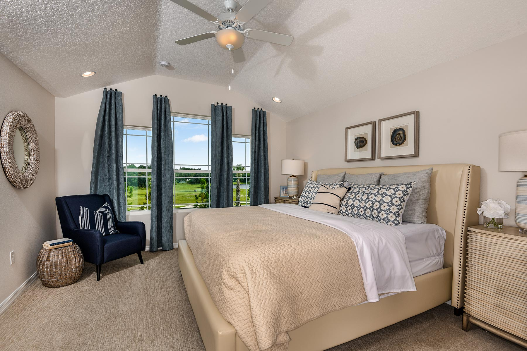 Tohoqua Bedroom in Kissimmee Florida by Mattamy Homes