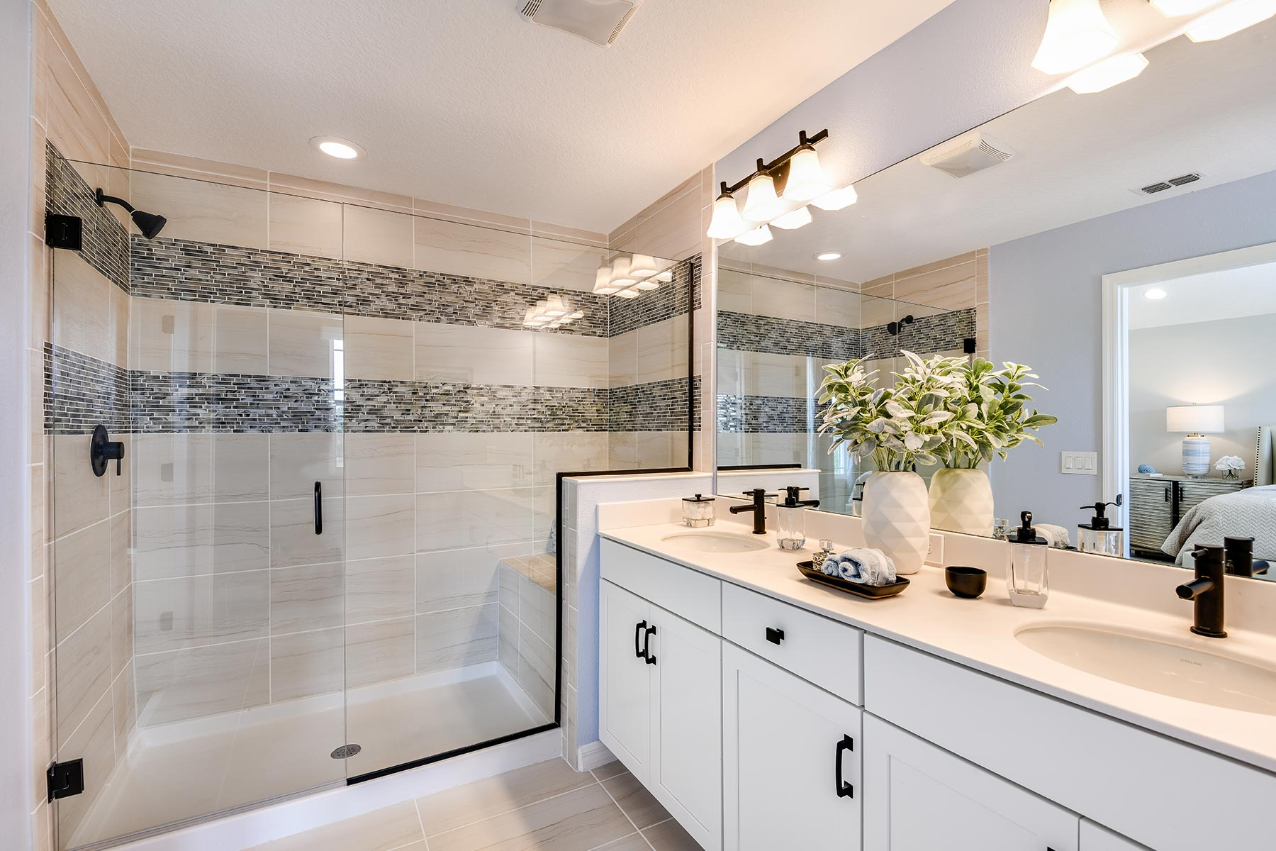 Tohoqua Bathroom_Master Bath in Kissimmee Florida by Mattamy Homes