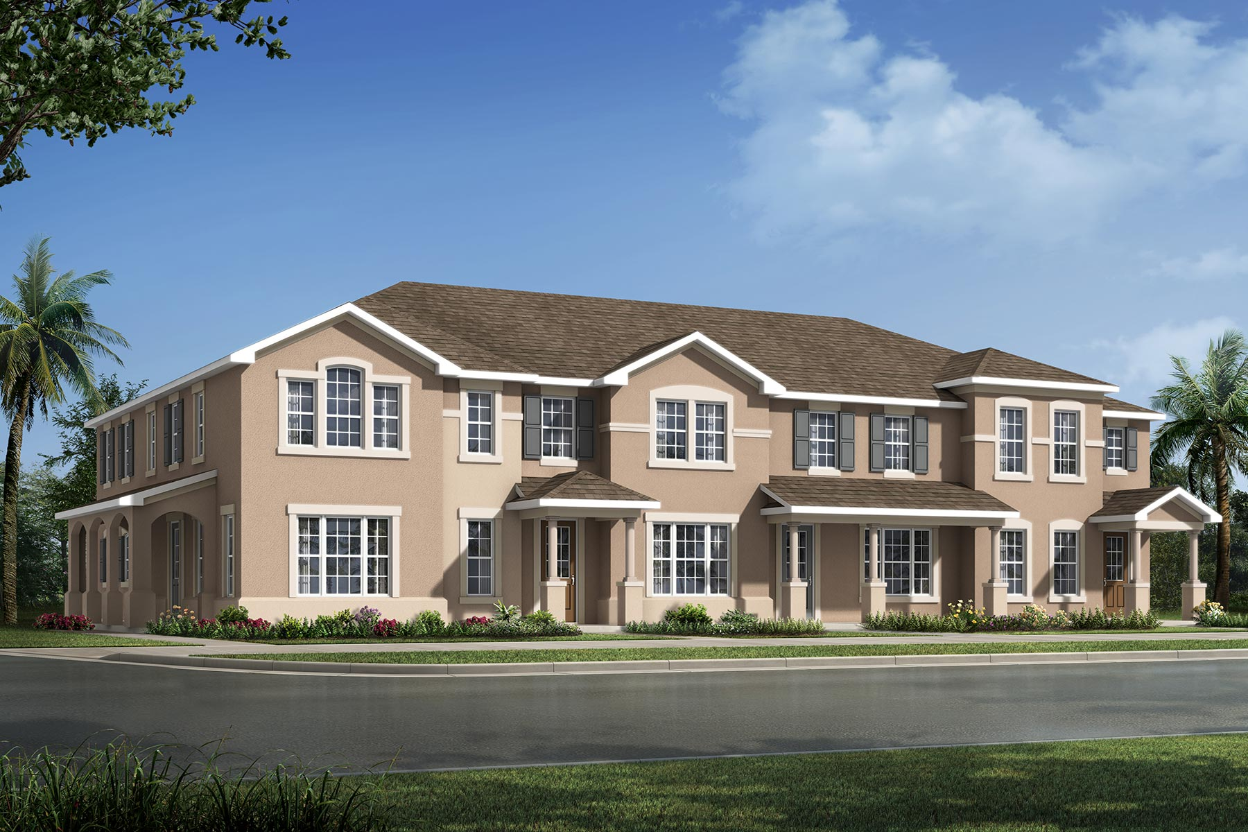 Camilla III Plan TownHomes at Tohoqua in Kissimmee Florida by Mattamy Homes
