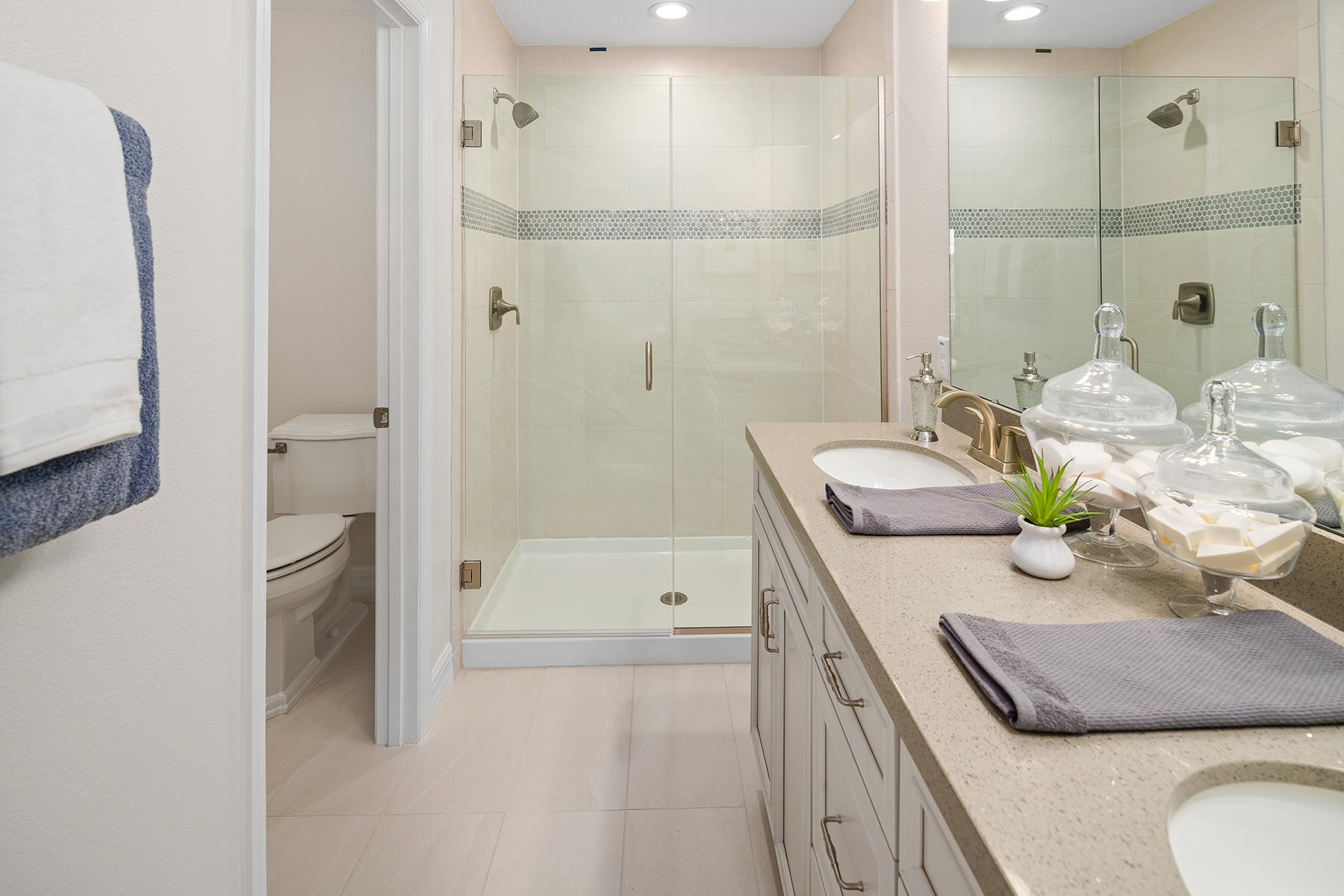 Anabel III Plan Bathroom_Master Bath at Waterbrooke in Clermont Florida by Mattamy Homes