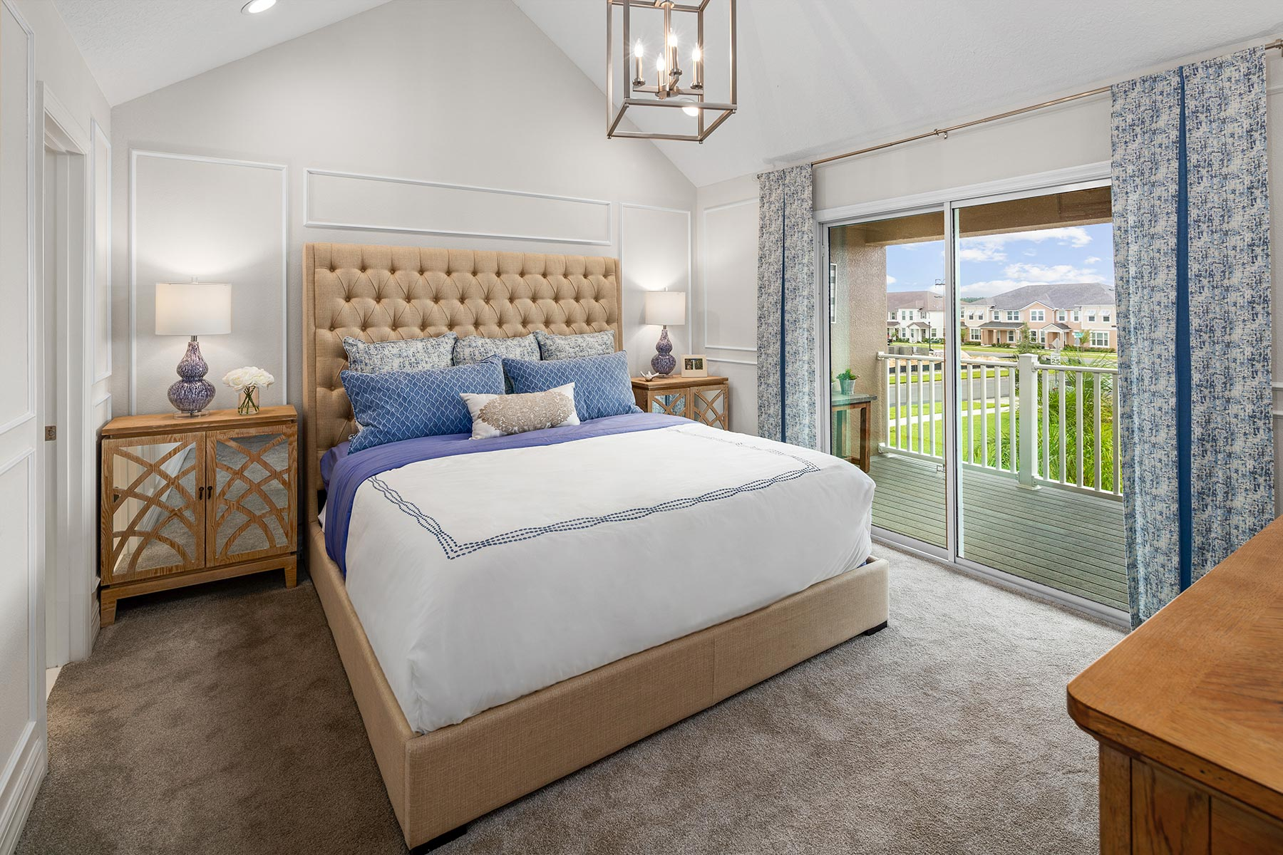 Anabel III Plan Bedroom at Waterbrooke in Clermont Florida by Mattamy Homes