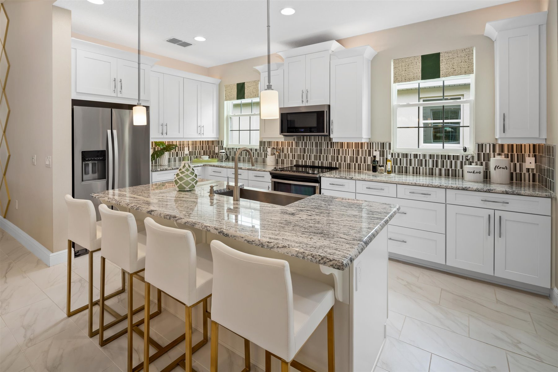 Tohoqua Kitchen in Kissimmee Florida by Mattamy Homes
