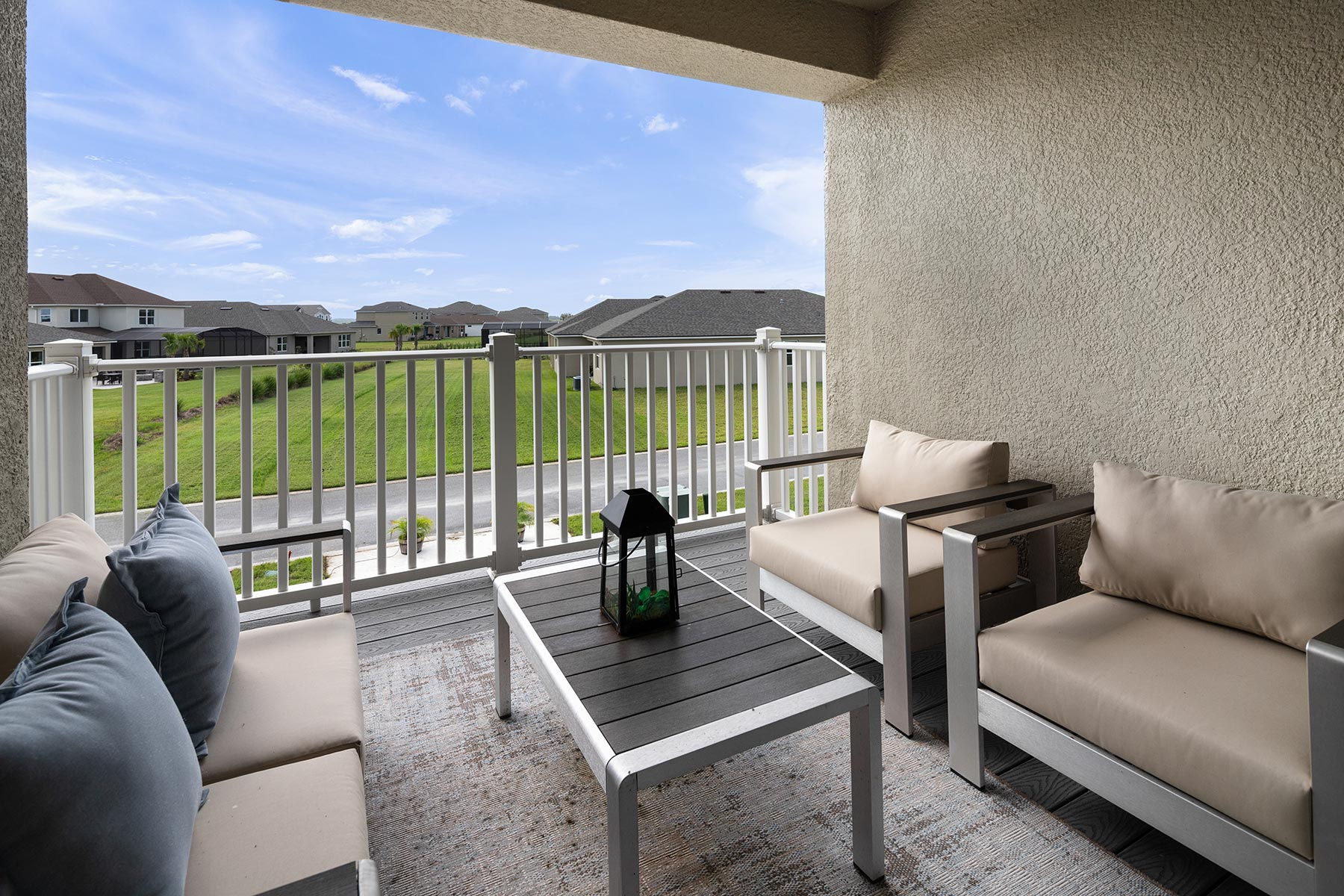 Camilla III Plan Patio at Waterbrooke in Clermont Florida by Mattamy Homes