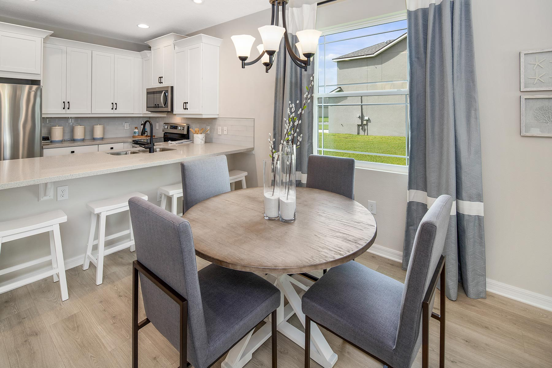 Camilla III Plan Dining at Waterbrooke in Clermont Florida by Mattamy Homes
