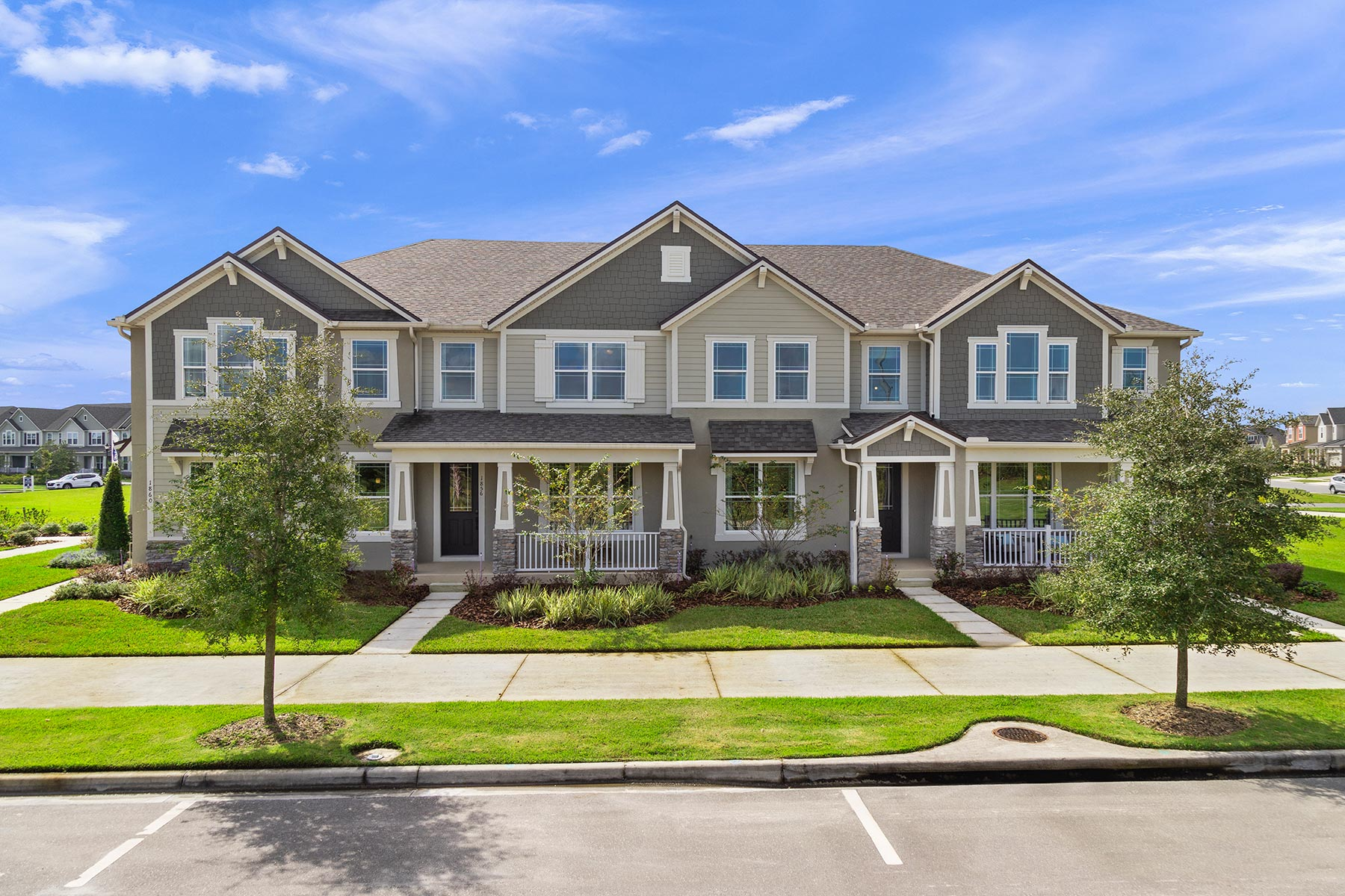 Camilla III Plan Elevation Front at Tohoqua in Kissimmee Florida by Mattamy Homes