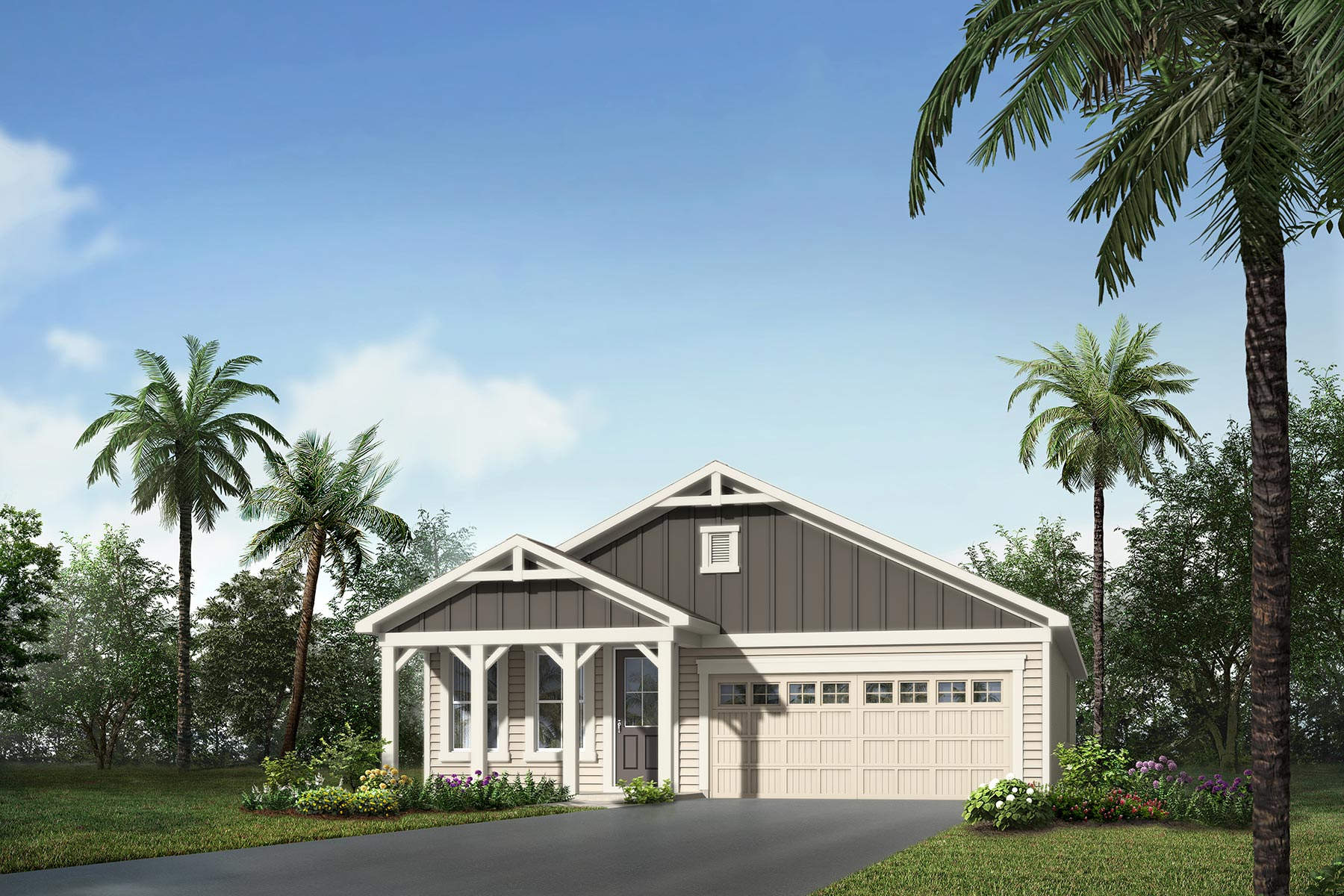 Tohoqua Elevation Front in Kissimmee Florida by Mattamy Homes
