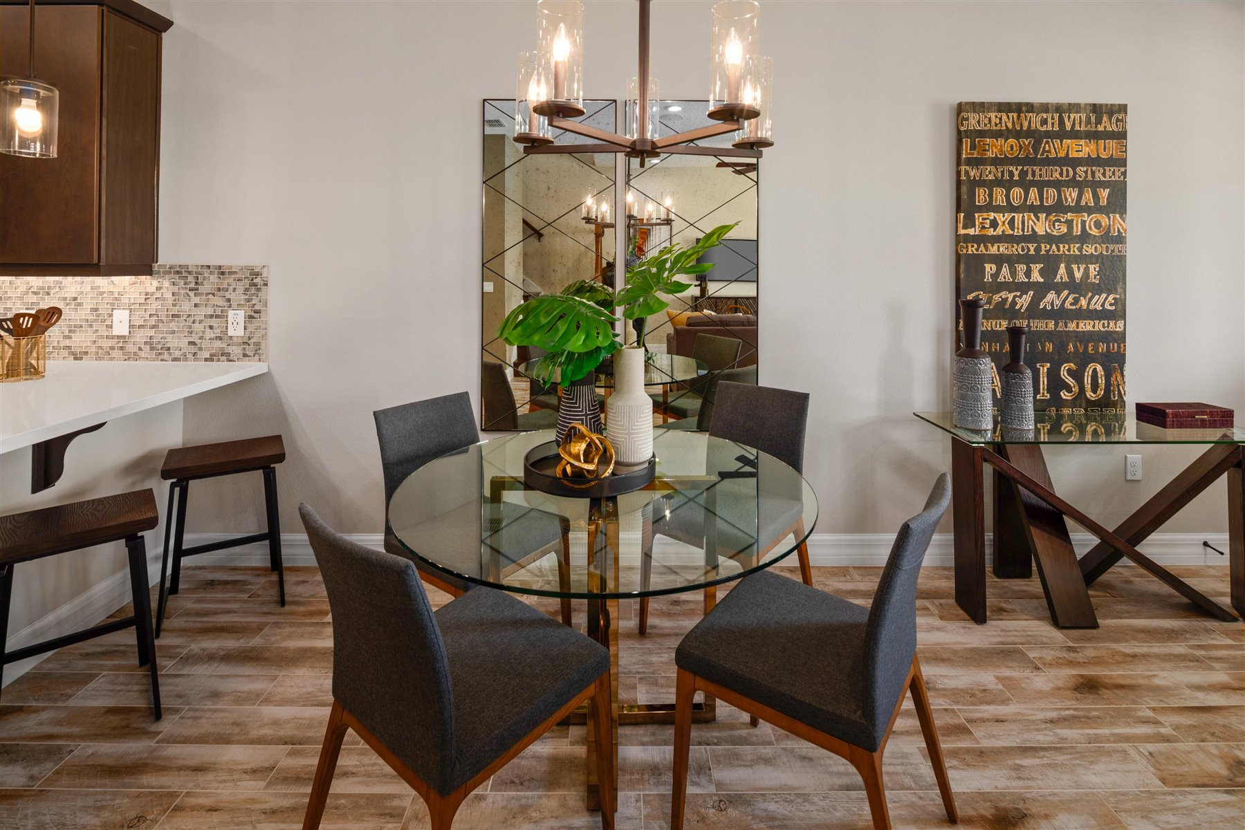 Francesca III Plan Dining at Tohoqua in Kissimmee Florida by Mattamy Homes
