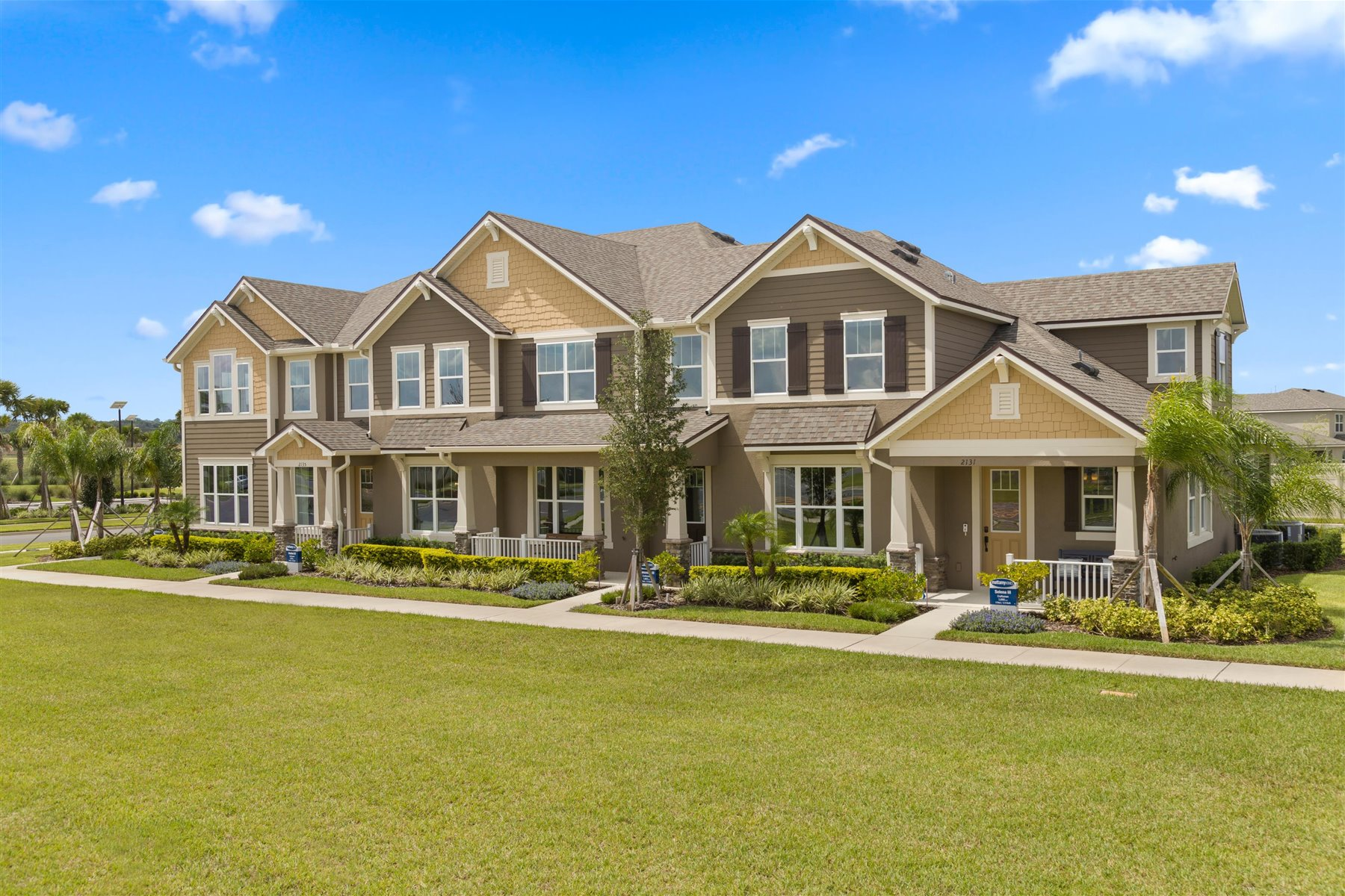 Francesca III Plan TownHomes at Tohoqua in Kissimmee Florida by Mattamy Homes