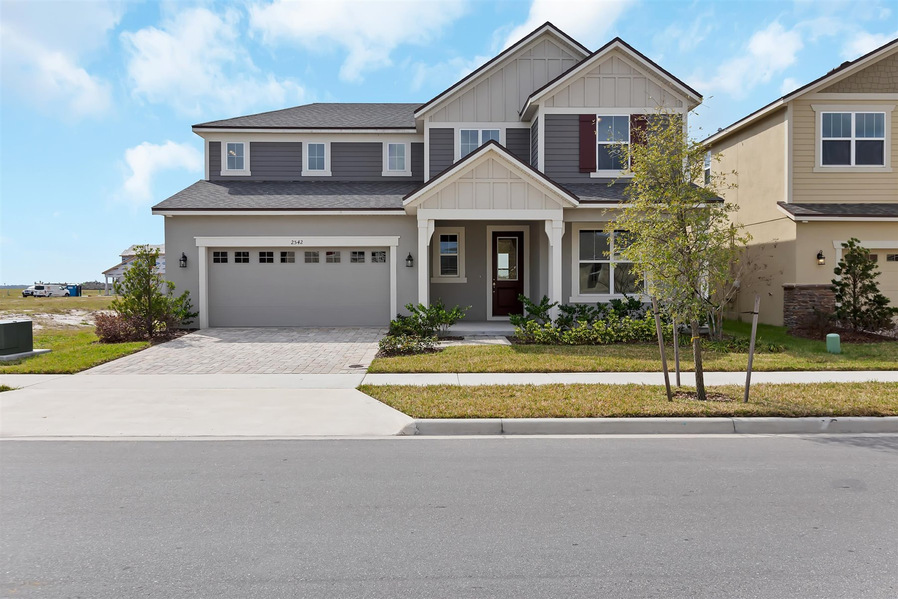 Graham Plan Elevation Front at Tohoqua in Kissimmee Florida by Mattamy Homes