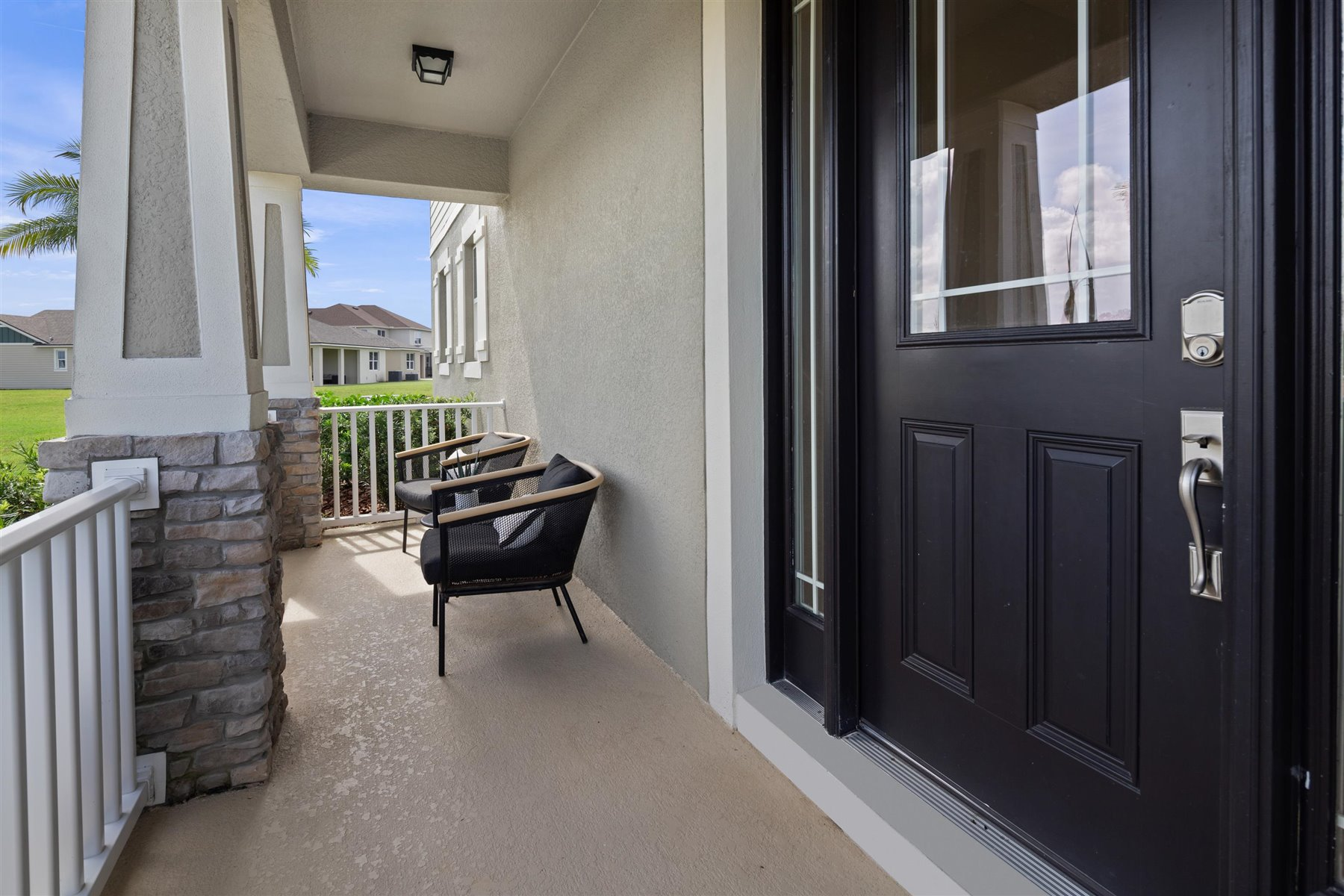Marabel III Plan Front Porch at Tohoqua in Kissimmee Florida by Mattamy Homes
