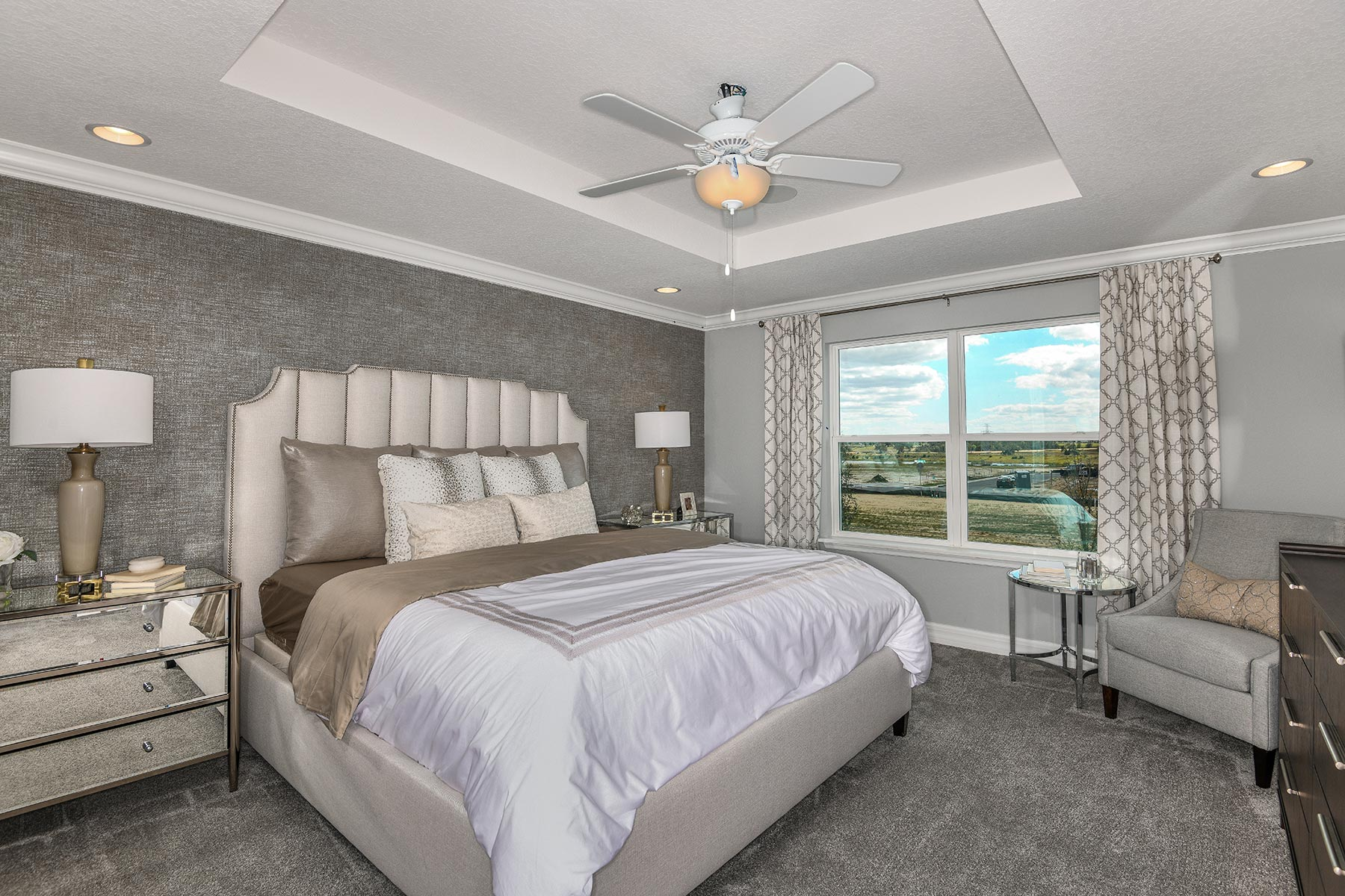 Waterbrooke Bedroom in Clermont Florida by Mattamy Homes