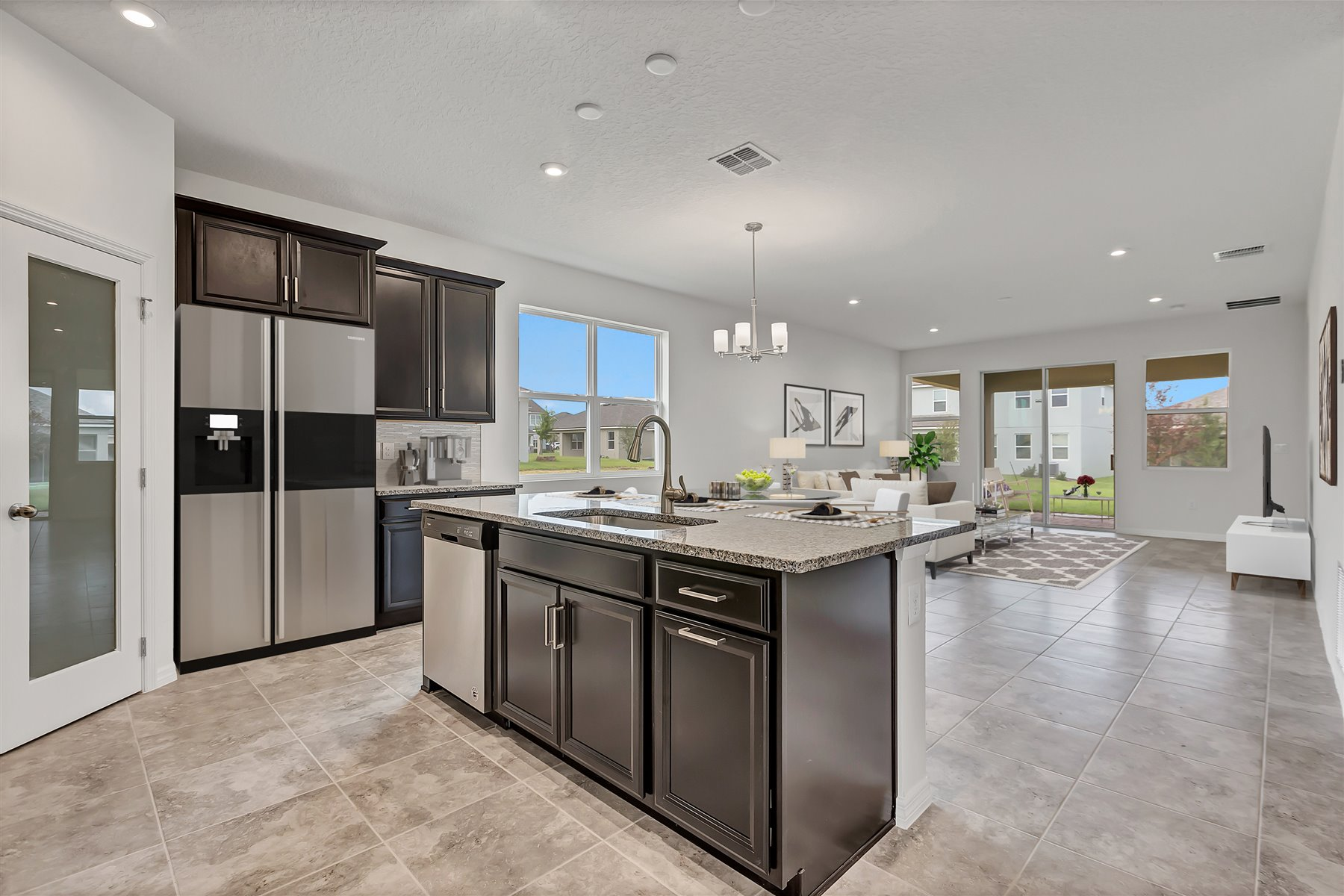 Emma Plan Kitchen at Waterbrooke in Clermont Florida by Mattamy Homes