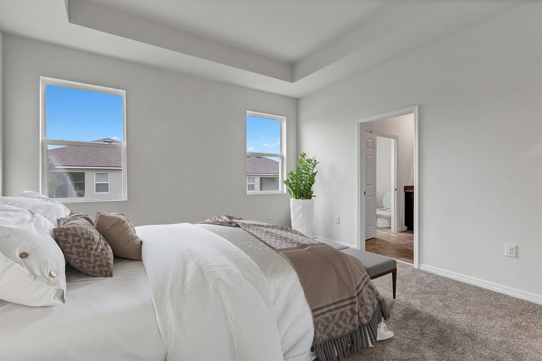 Emma Plan Bedroom at Waterbrooke in Clermont Florida by Mattamy Homes