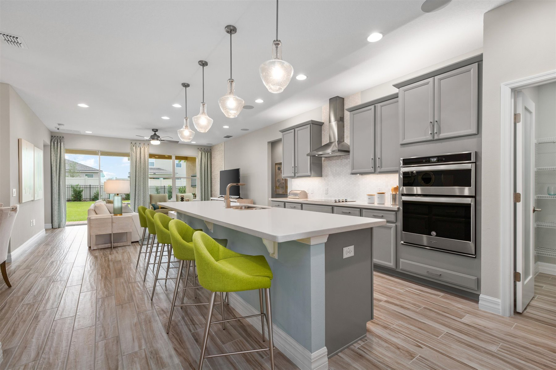 Waterbrooke Kitchen in Clermont Florida by Mattamy Homes