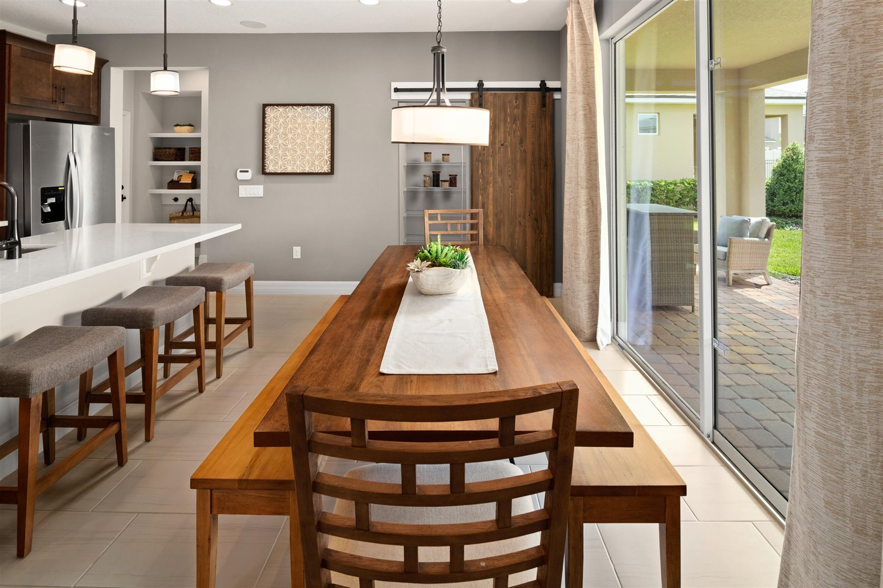 Griffin Plan Dining at Waterbrooke in Clermont Florida by Mattamy Homes