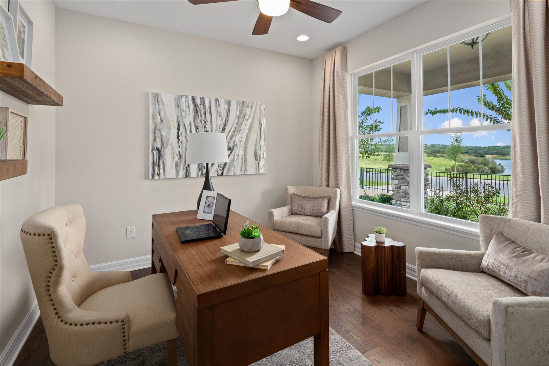Griffin Plan Study Room at Waterbrooke in Clermont Florida by Mattamy Homes