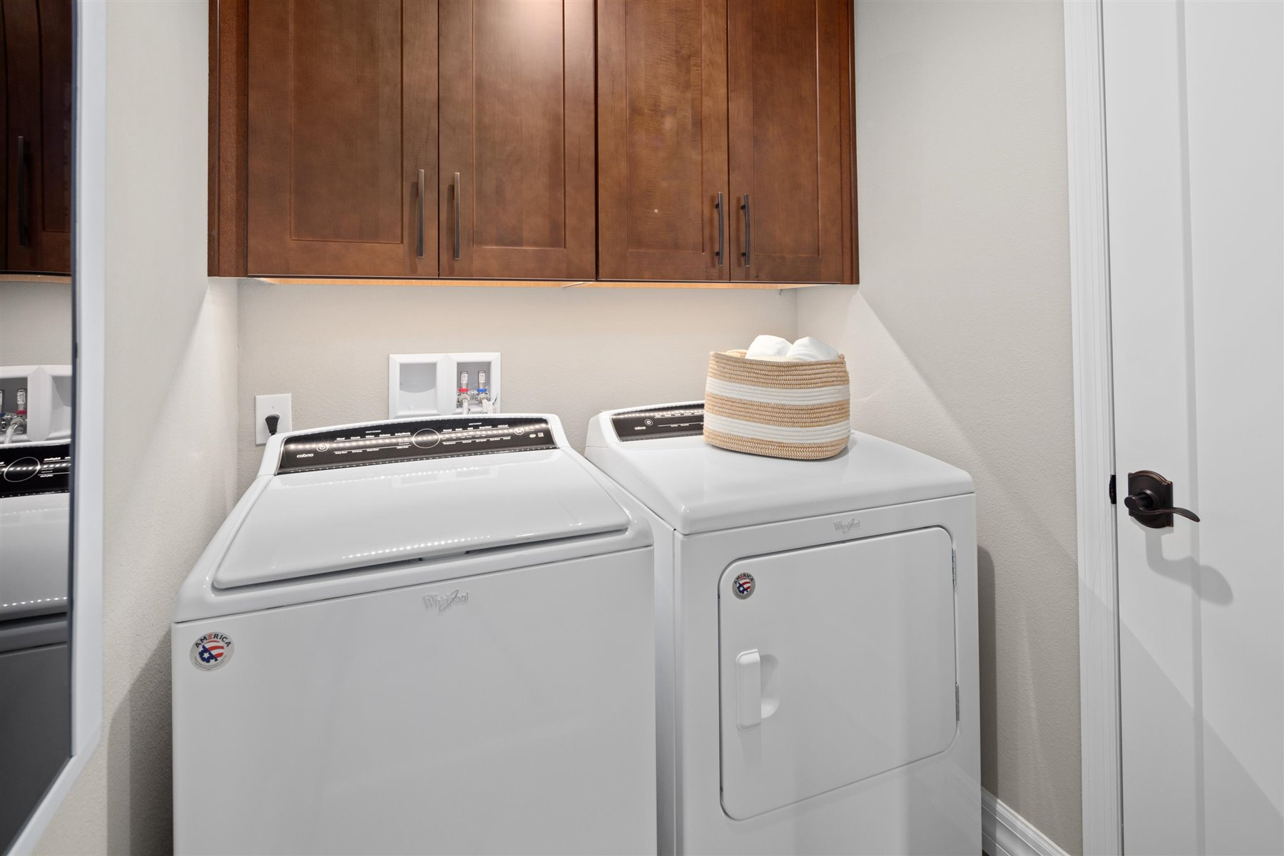 Griffin Plan Laundry at Waterbrooke in Clermont Florida by Mattamy Homes