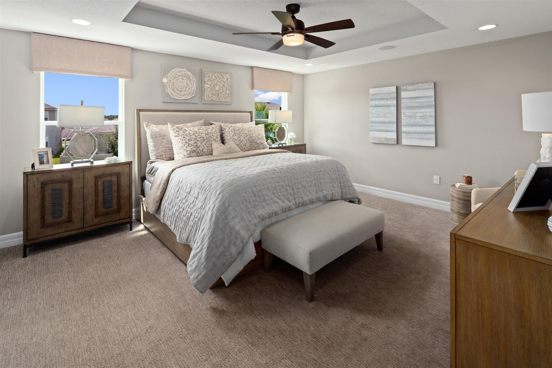 Griffin Plan Bedroom at Waterbrooke in Clermont Florida by Mattamy Homes