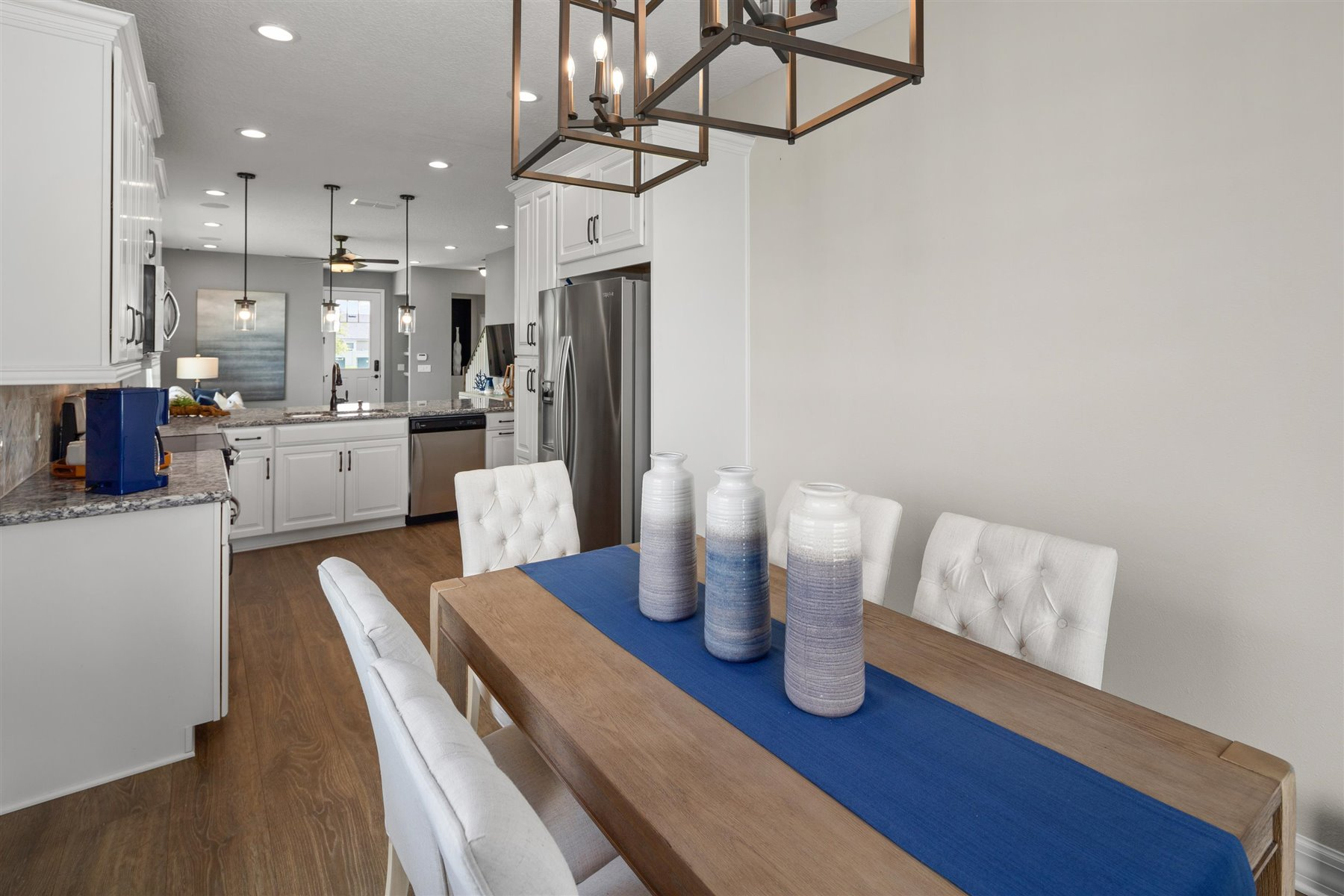 Selena III Plan Dining at Waterbrooke in Clermont Florida by Mattamy Homes