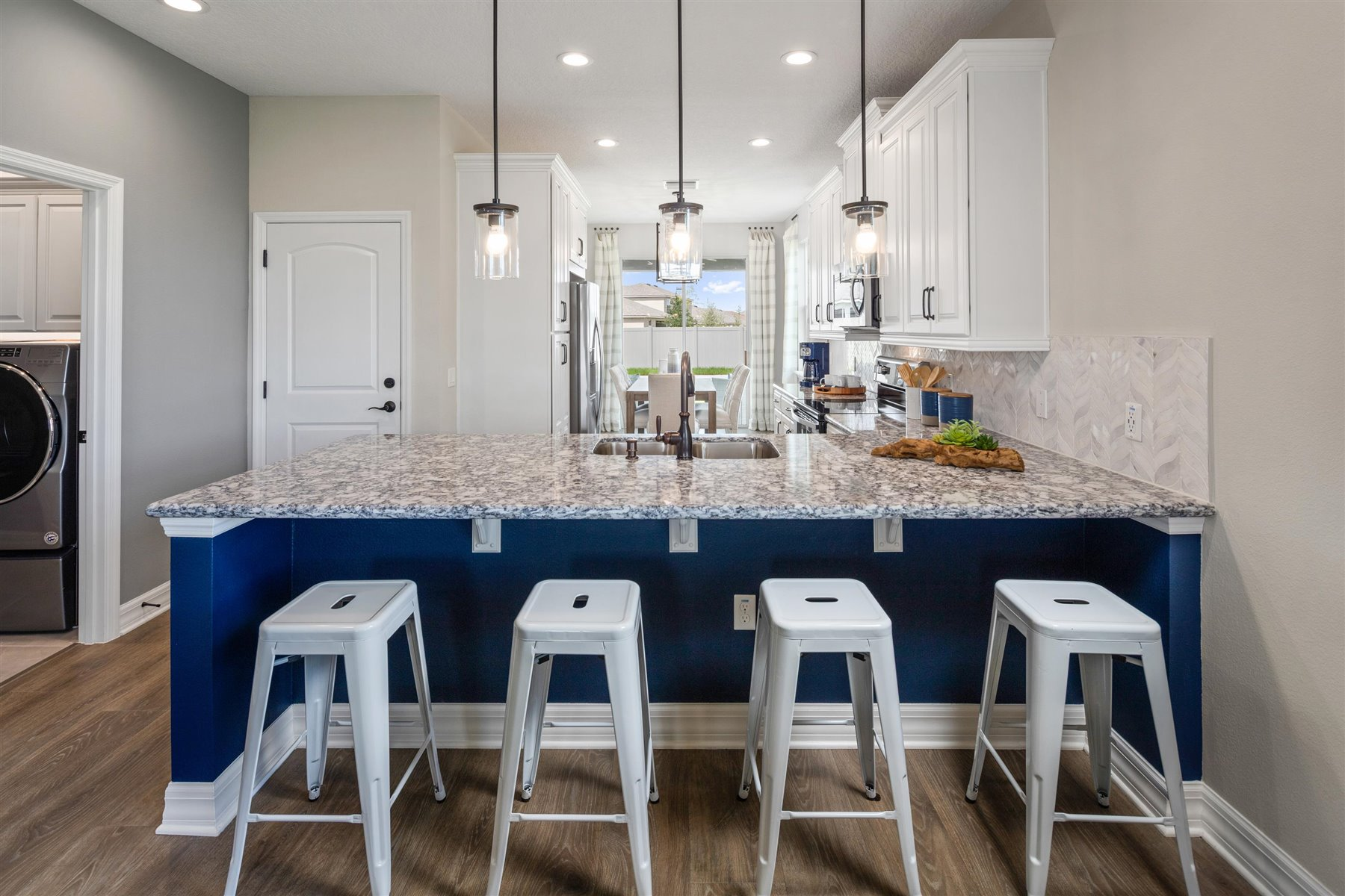 Selena III Plan Kitchen at Waterbrooke in Clermont Florida by Mattamy Homes