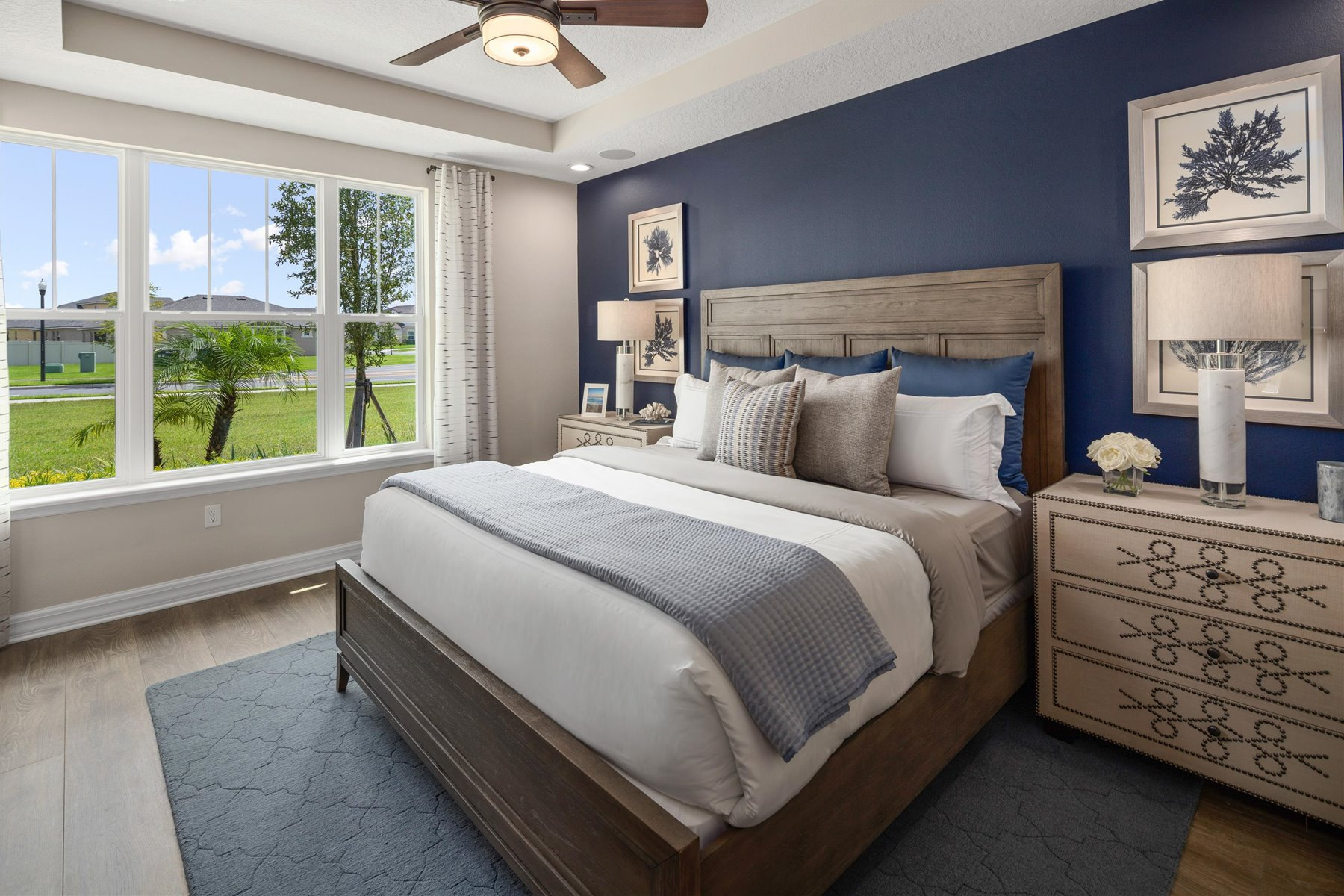 Selena III Plan Bedroom at Waterbrooke in Clermont Florida by Mattamy Homes