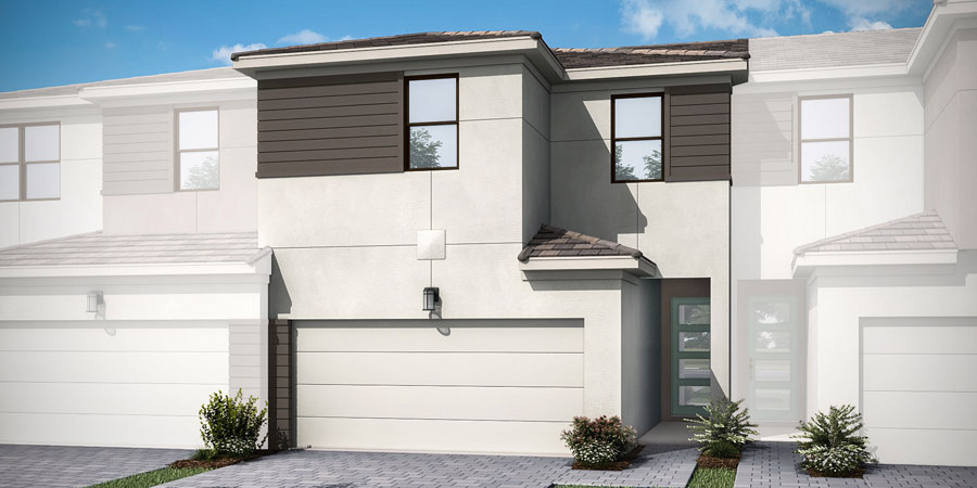 Dakota Plan ElevationContemporary_Saddlewood_Dakota_Interior_900x450 at Saddlewood in Lake Worth Florida by Mattamy Homes