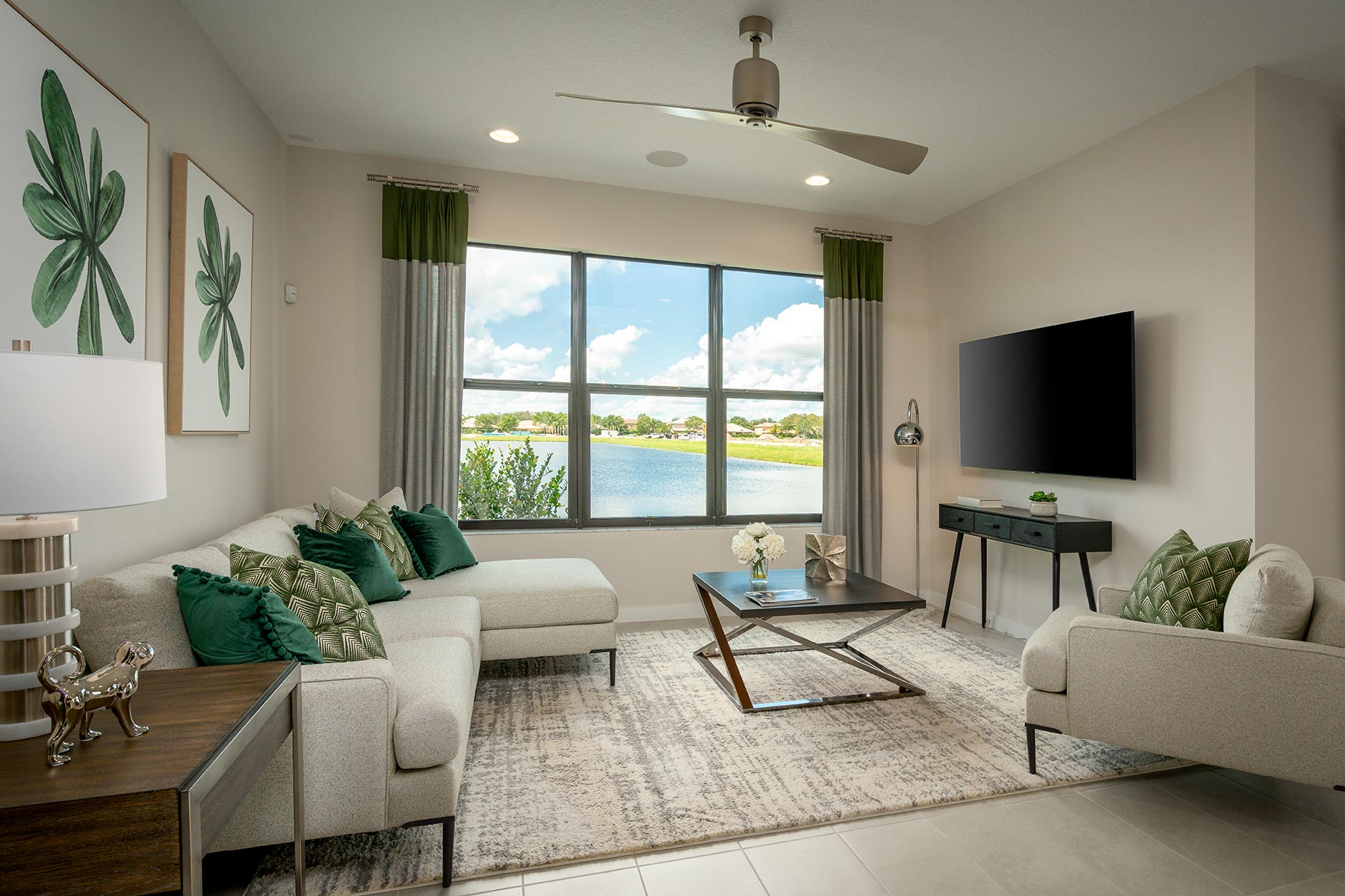 Saddlewood Greatroom in Lake Worth Florida by Mattamy Homes