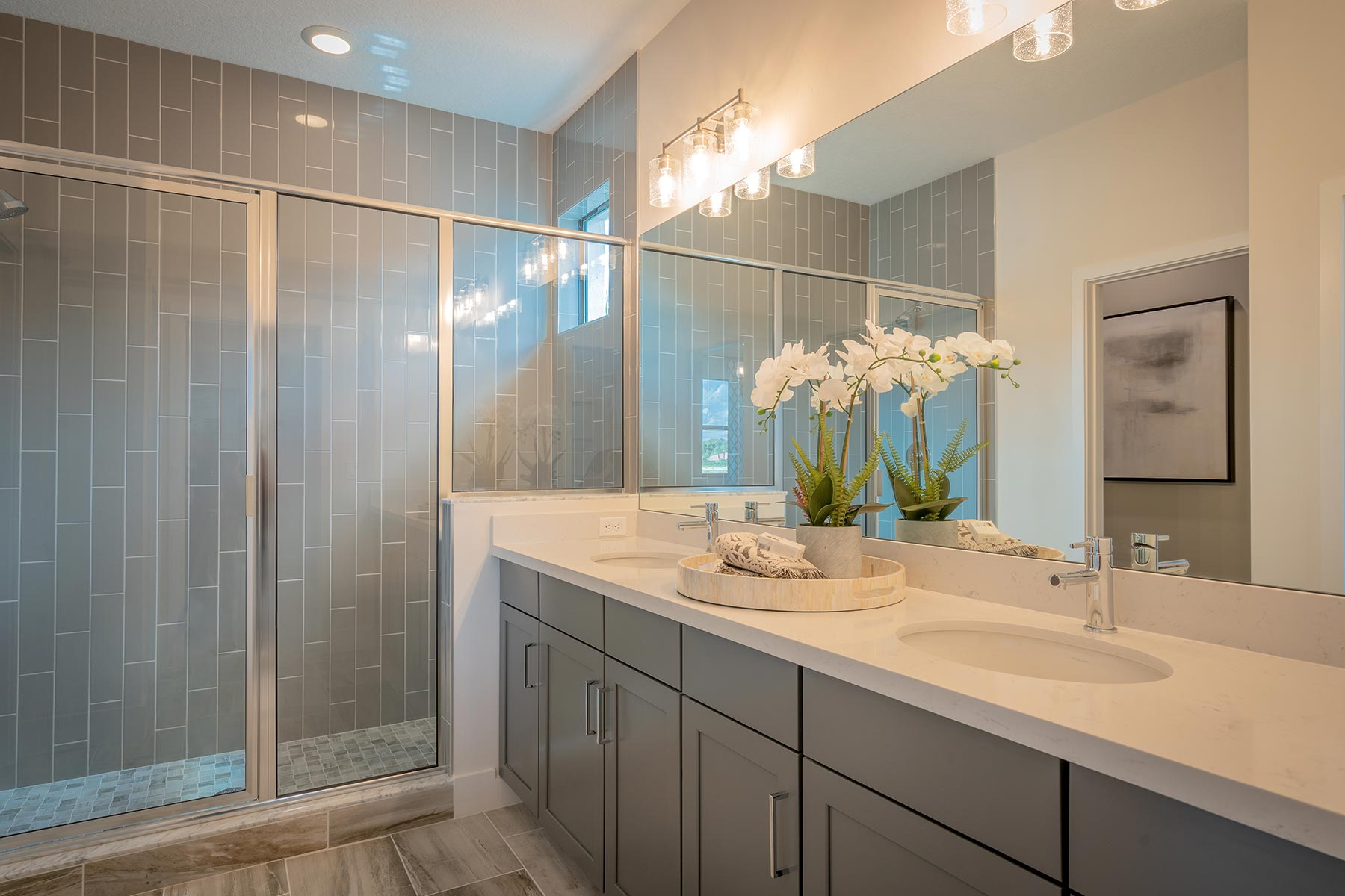 Ellery Plan Bathroom_Master Bath at Saddlewood in Lake Worth Florida by Mattamy Homes