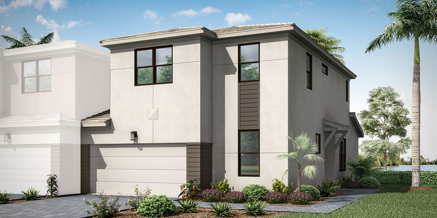 Marlowe Plan ElevationContemporary_Saddlewood_Marlowe_900x450 at Saddlewood in Lake Worth Florida by Mattamy Homes
