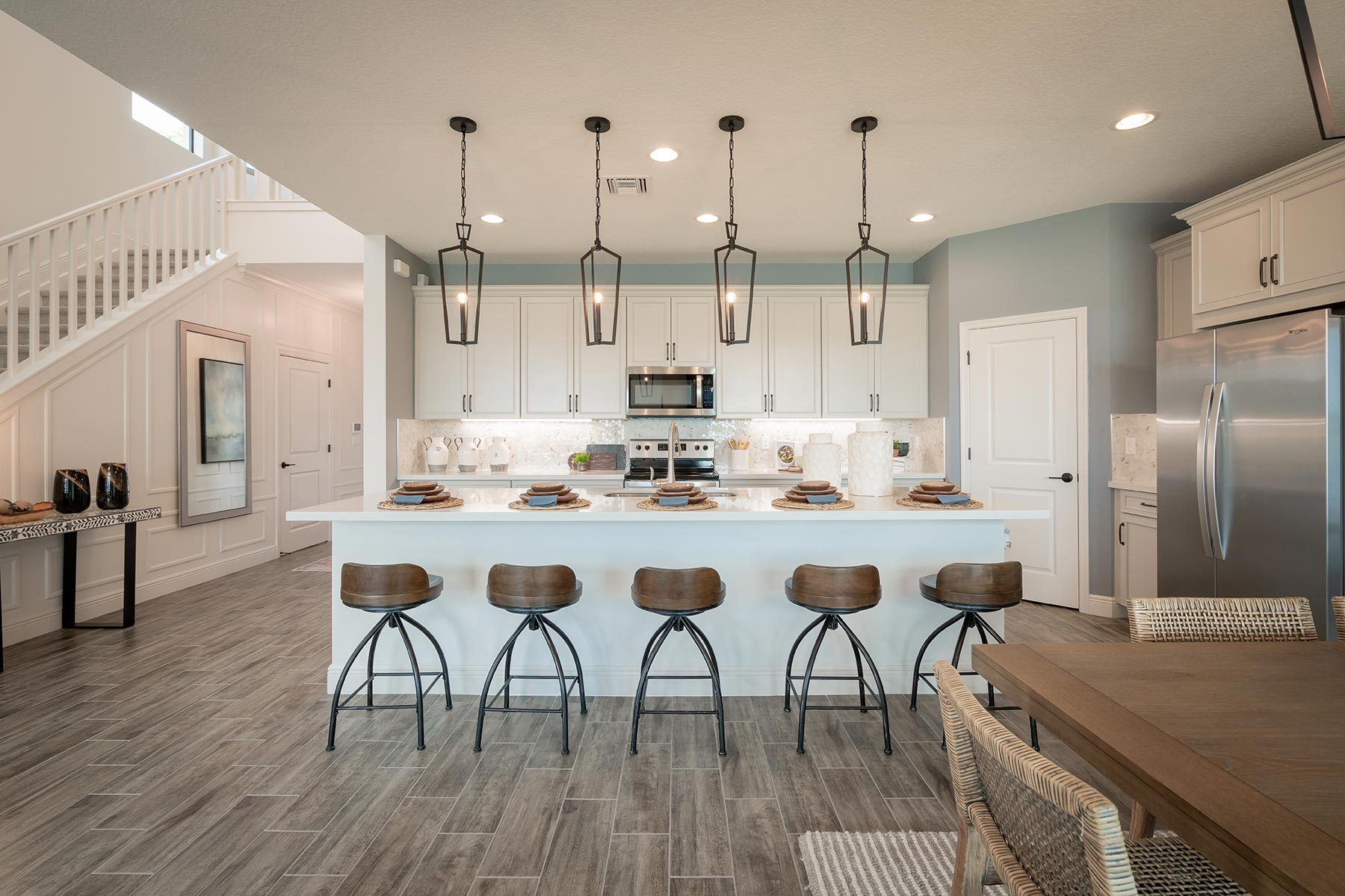 Saddlewood Kitchen in Lake Worth Florida by Mattamy Homes