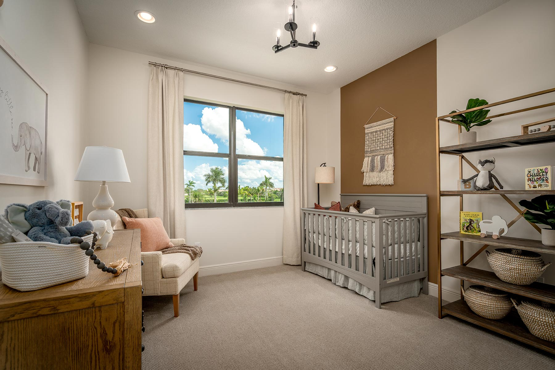 Oakley Plan Bedroom at Saddlewood in Lake Worth Florida by Mattamy Homes