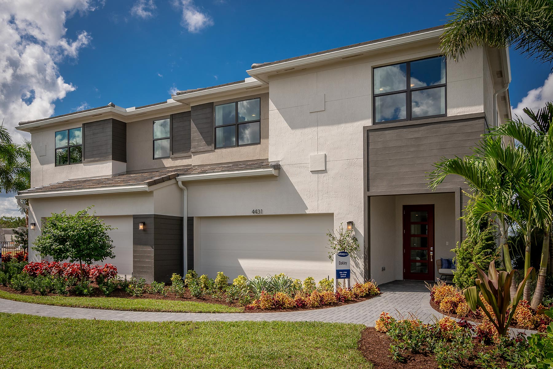 Saddlewood Elevation Front in Lake Worth Florida by Mattamy Homes