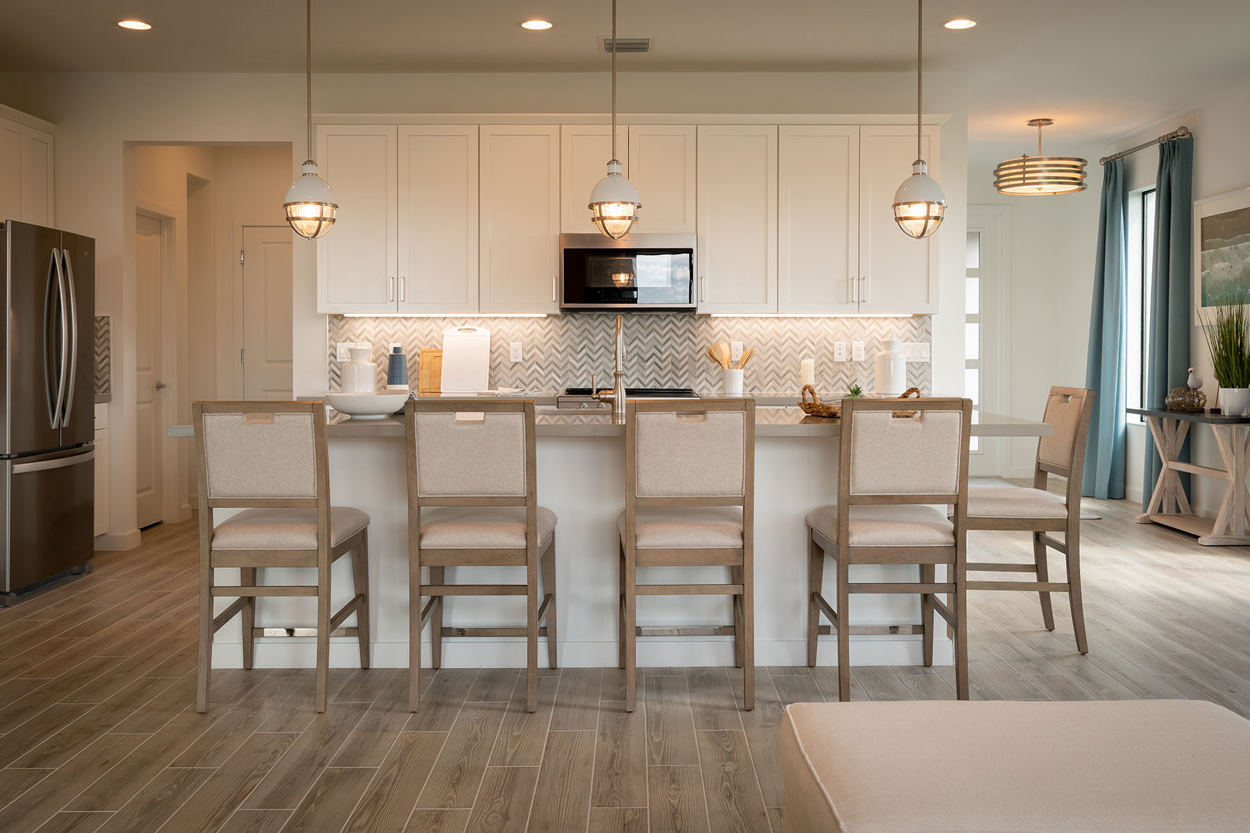 Sunbrooke Plan Kitchen at Saddlewood in Lake Worth Florida by Mattamy Homes