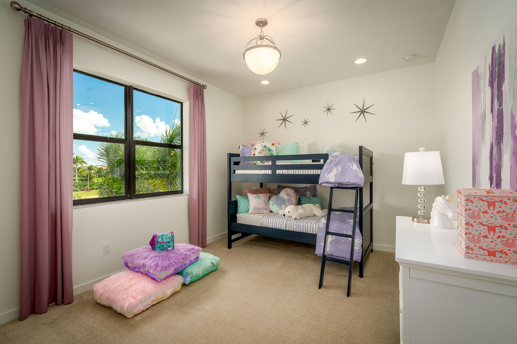 Sunbrooke Plan Bedroom at Saddlewood in Lake Worth Florida by Mattamy Homes