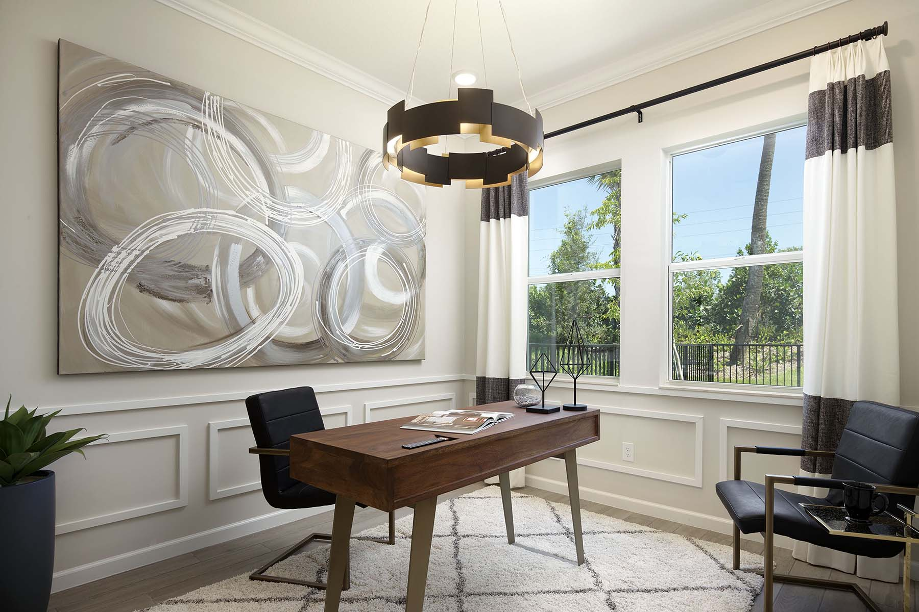 Sabal Plan Study Room at Solcera in West Palm Beach Florida by Mattamy Homes