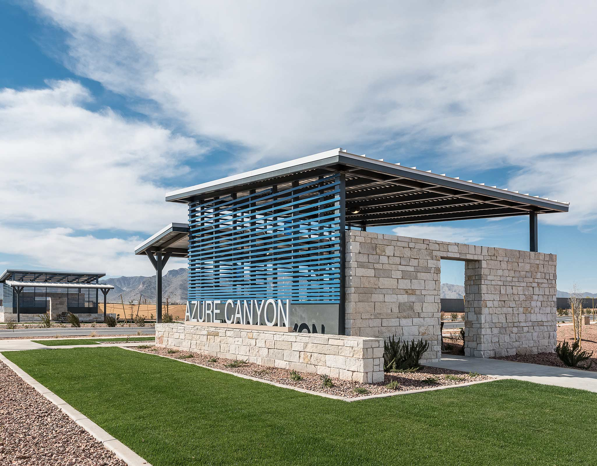 Azure Canyon MATPHX_AZC_Entry Monument1_2050x1600 in Litchfield Park Arizona by Mattamy Homes