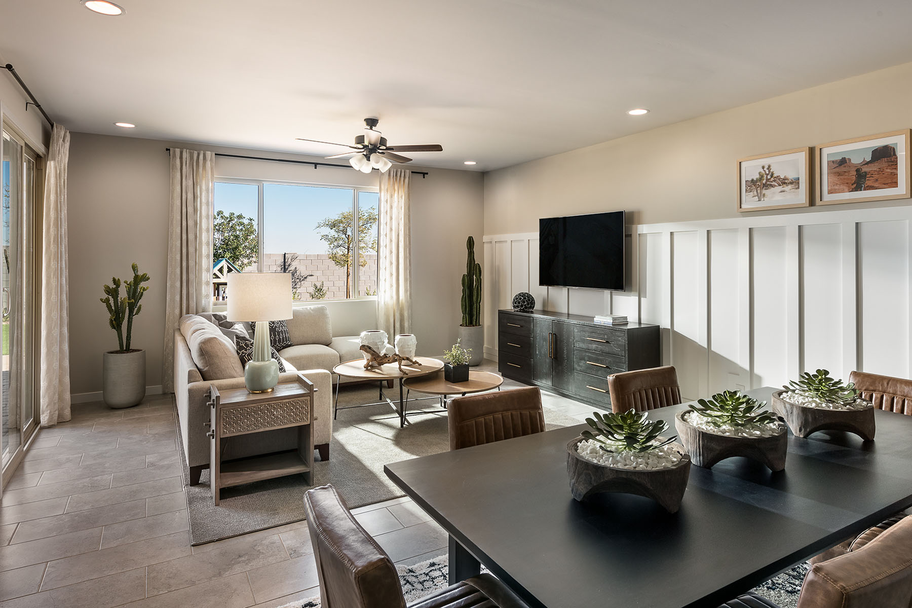 Aries Plan Greatroom at Azure Canyon in Litchfield Park Arizona by Mattamy Homes