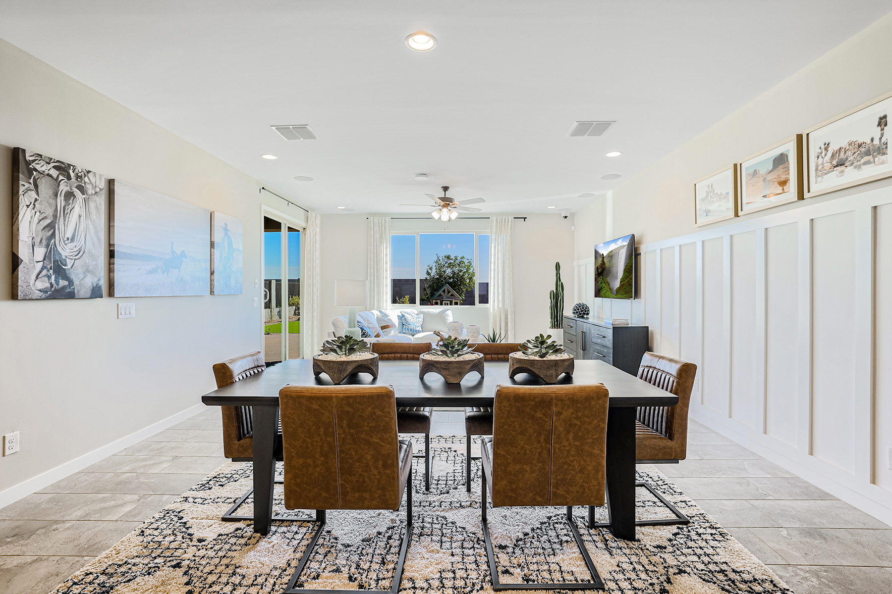 Aries Plan Dining at Azure Canyon in Litchfield Park Arizona by Mattamy Homes