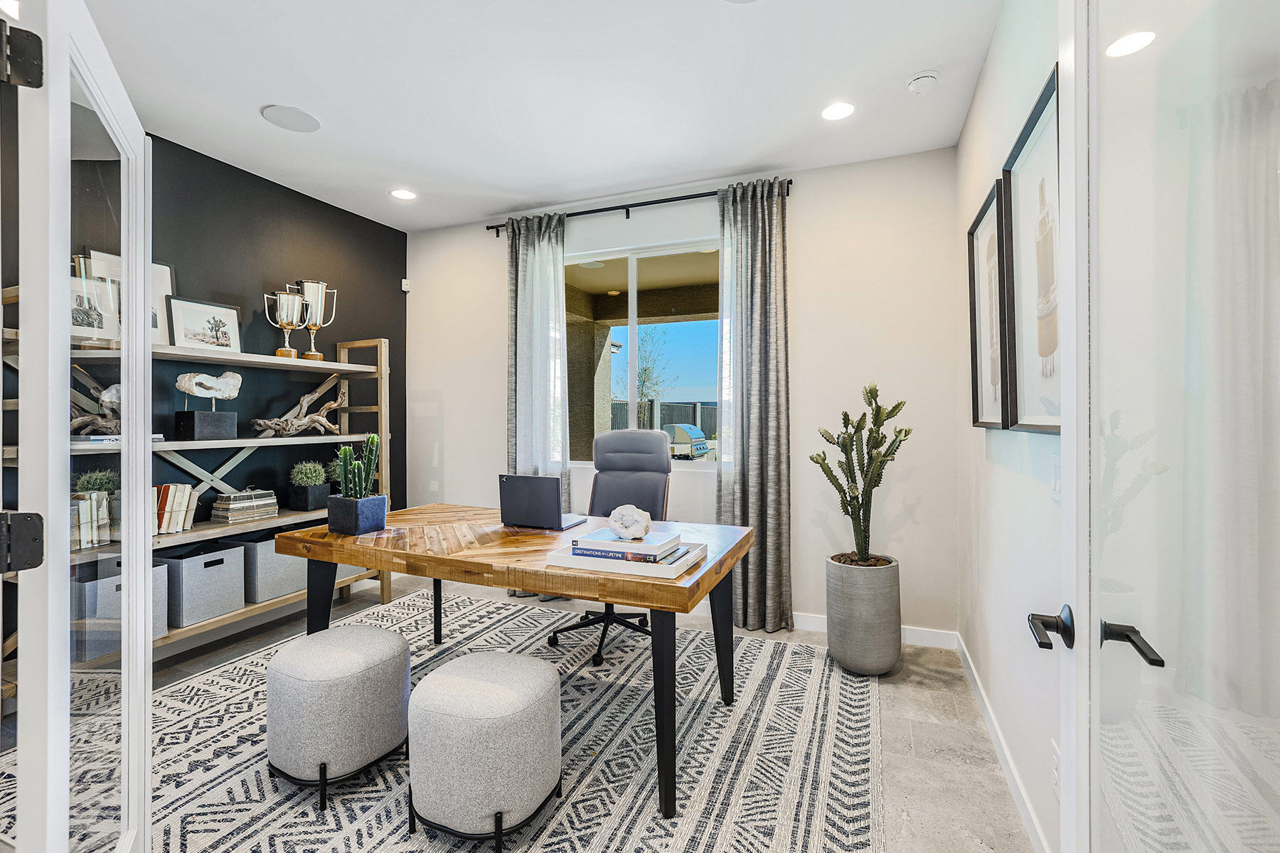 Aries Plan Study Room at Azure Canyon in Litchfield Park Arizona by Mattamy Homes