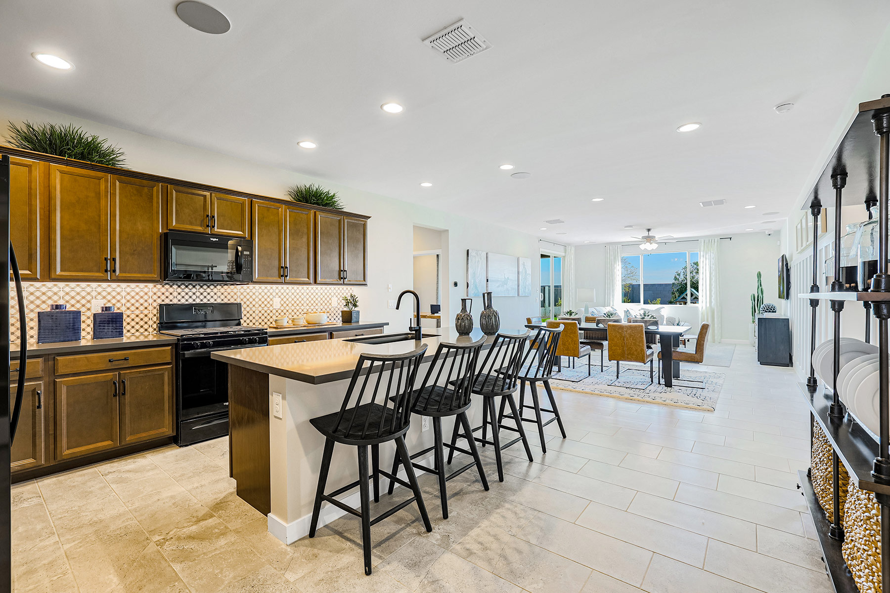 Aries Plan MATPHX_AZC_Aries_Kitchen_Dining_1800x1200 at Azure Canyon in Litchfield Park Arizona by Mattamy Homes