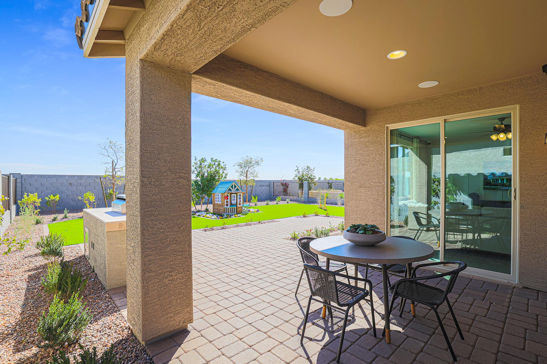Aries Plan MATPHX_AZC_Aries_Patio_1800x1200 at Azure Canyon in Litchfield Park Arizona by Mattamy Homes