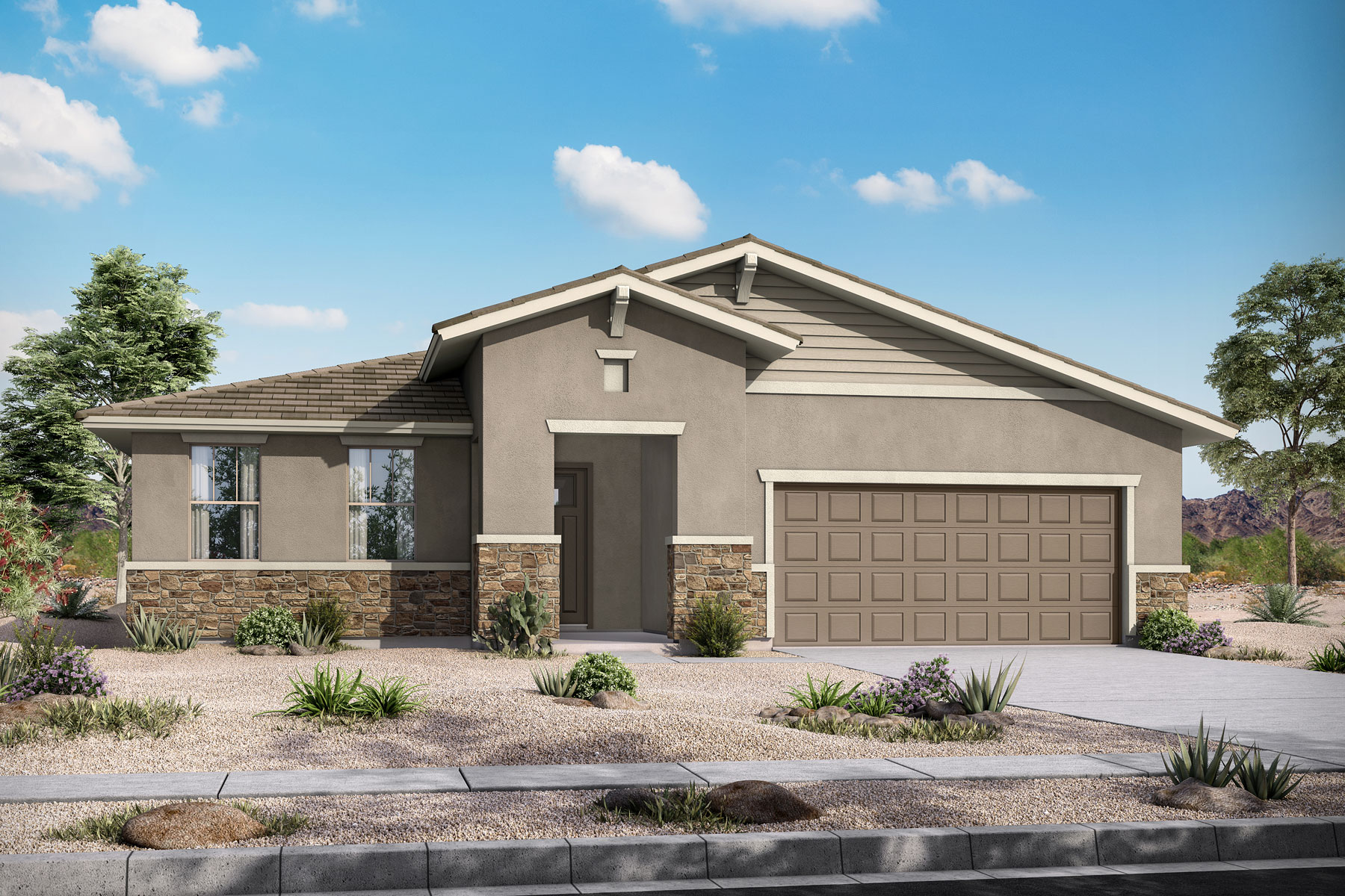 Bellwood Plan PHX_AzureCanyon_Bellwood_Craftsman at Azure Canyon in Goodyear Arizona by Mattamy Homes