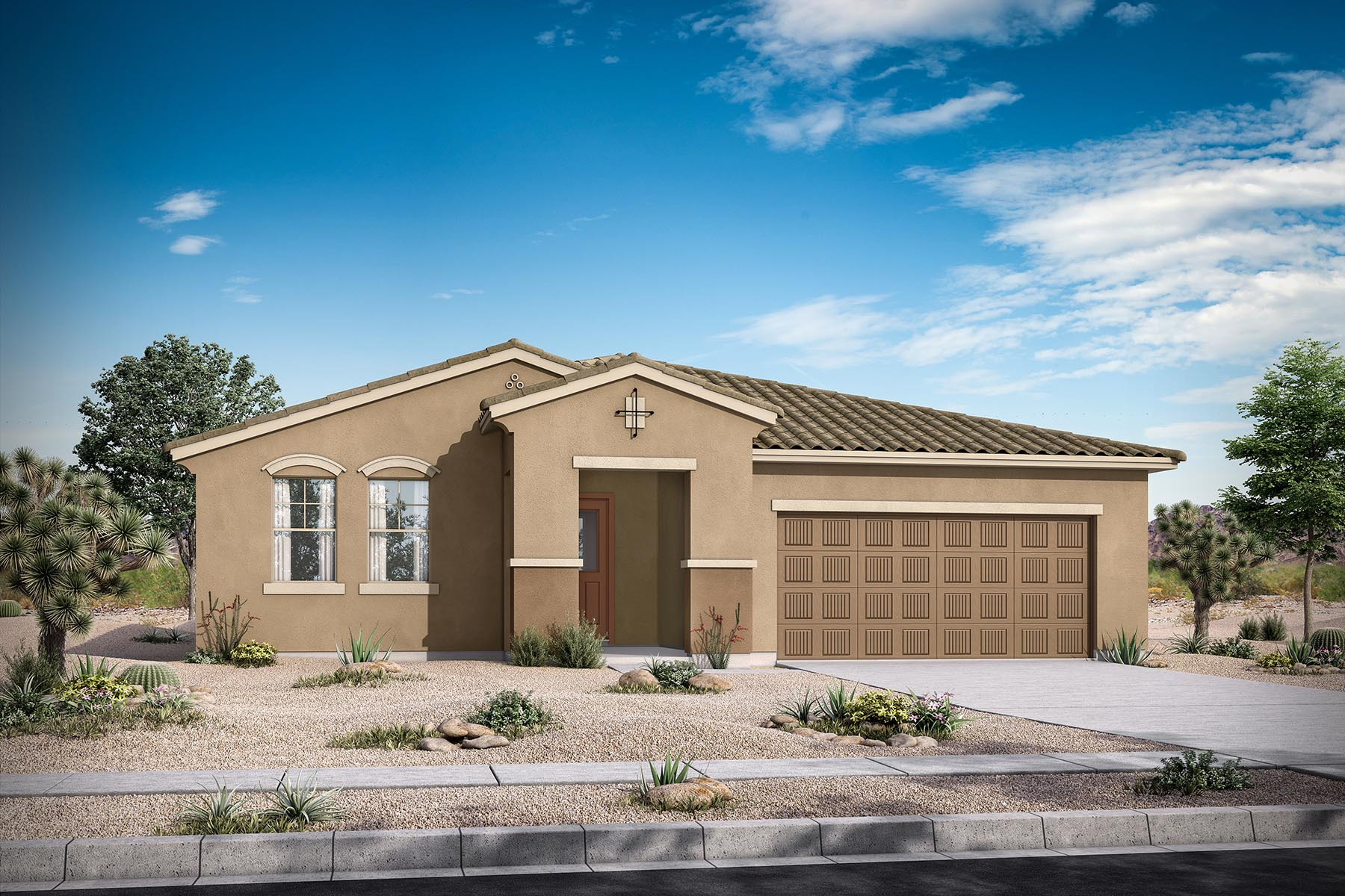 Bellwood Plan Elevation Front at Azure Canyon in Goodyear Arizona by Mattamy Homes