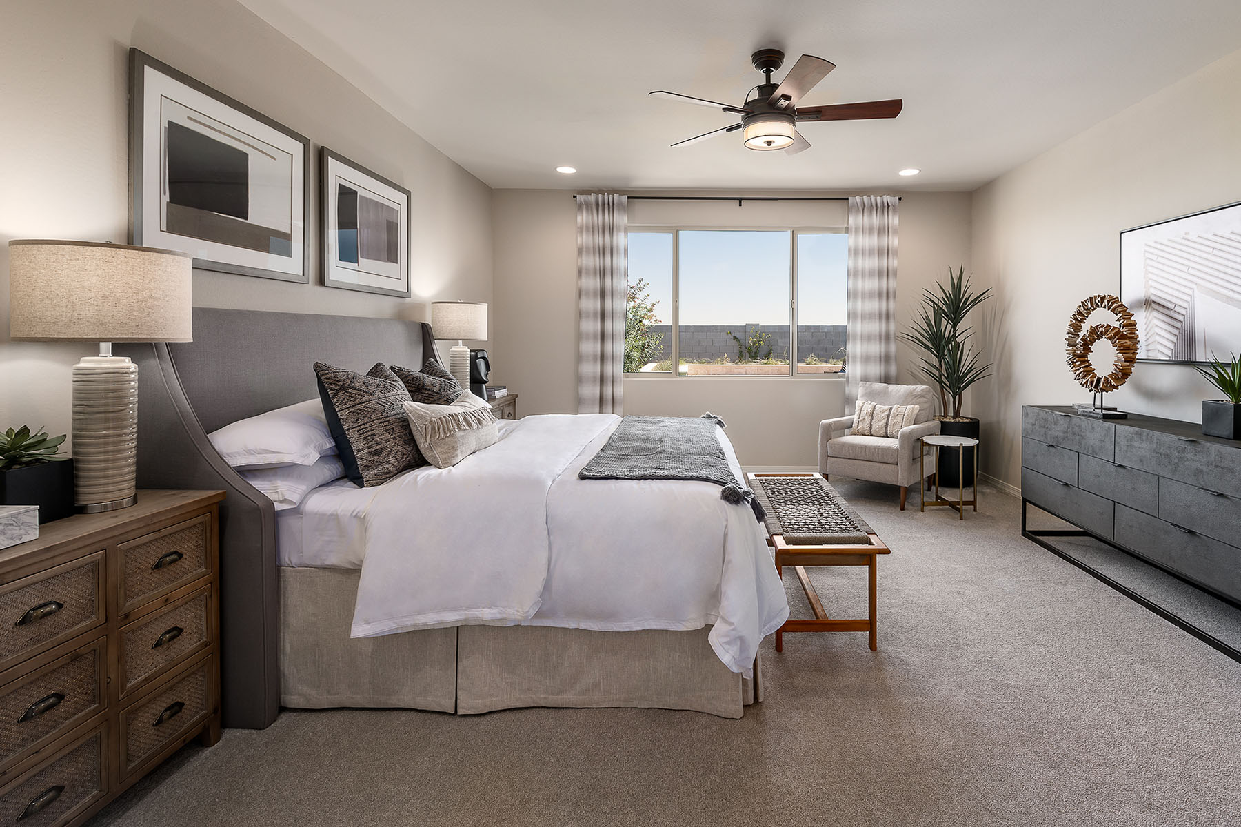 Azure Canyon Bedroom in Litchfield Park Arizona by Mattamy Homes
