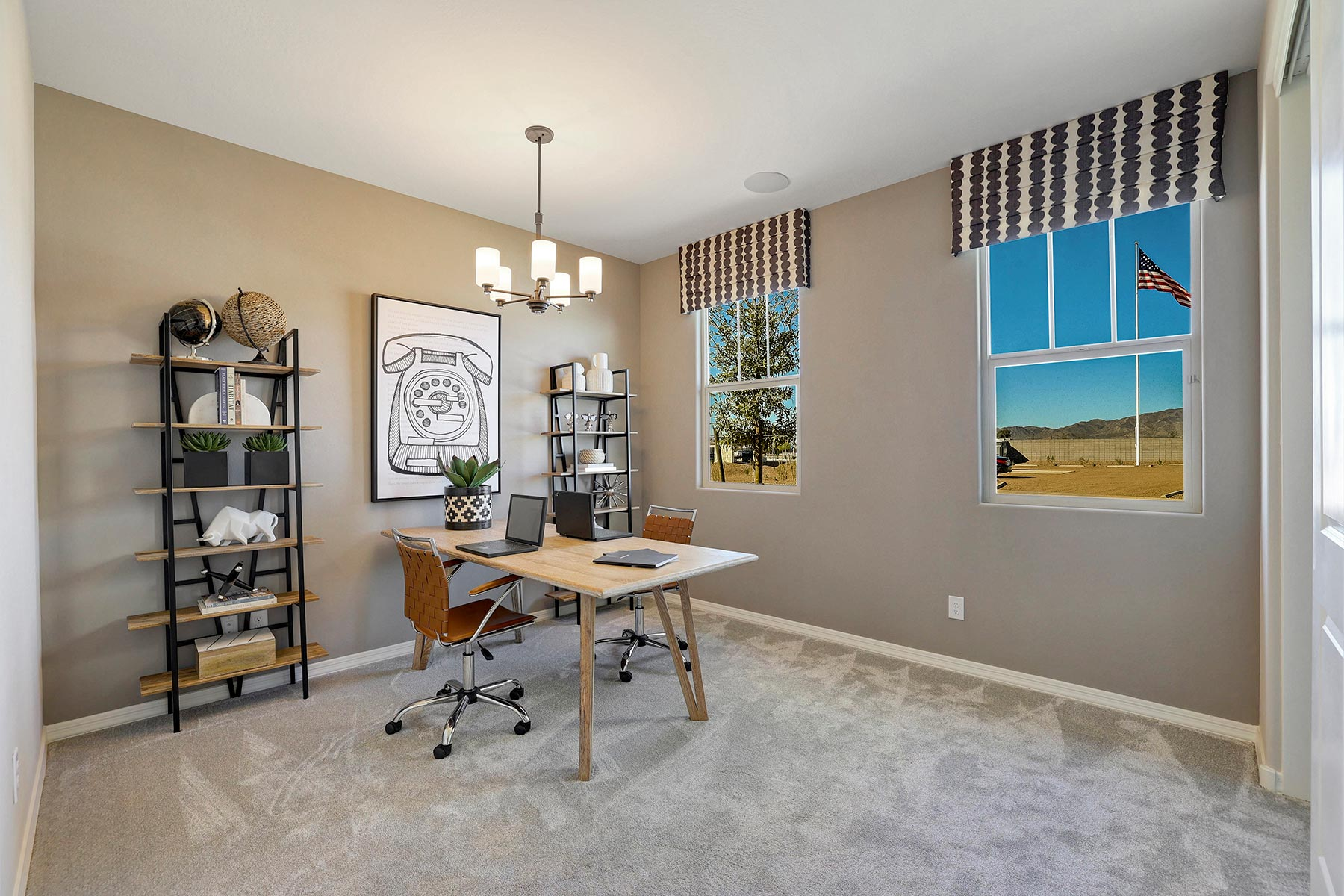 Bellwood Plan Study Room at Azure Canyon in Goodyear Arizona by Mattamy Homes