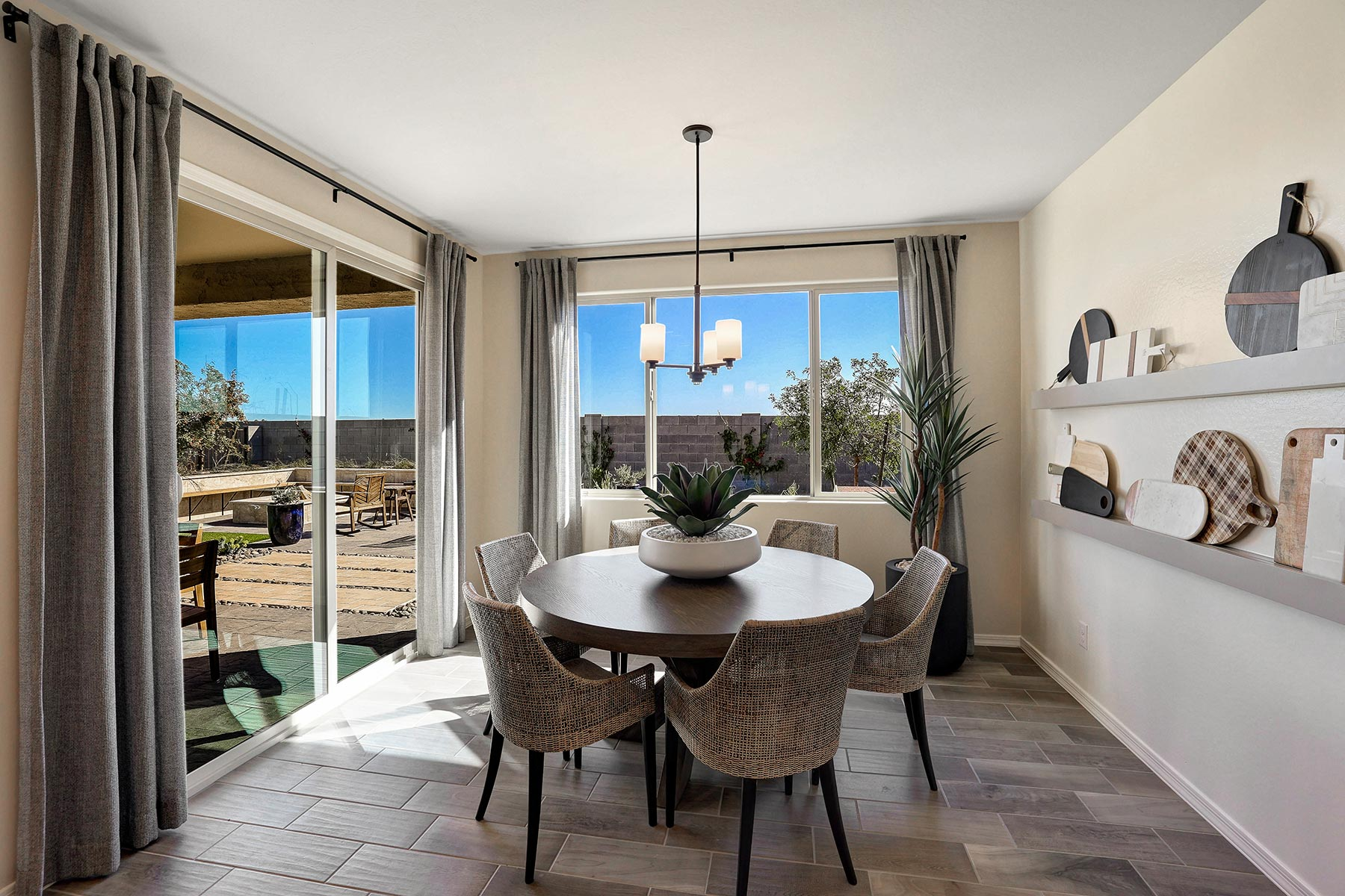 Bellwood Plan Breakfast at Azure Canyon in Goodyear Arizona by Mattamy Homes